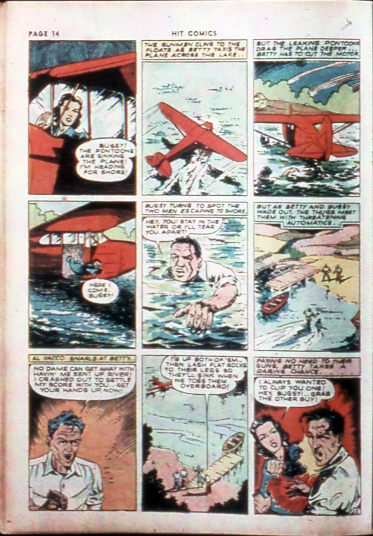 Read online Hit Comics comic -  Issue #14 - 16