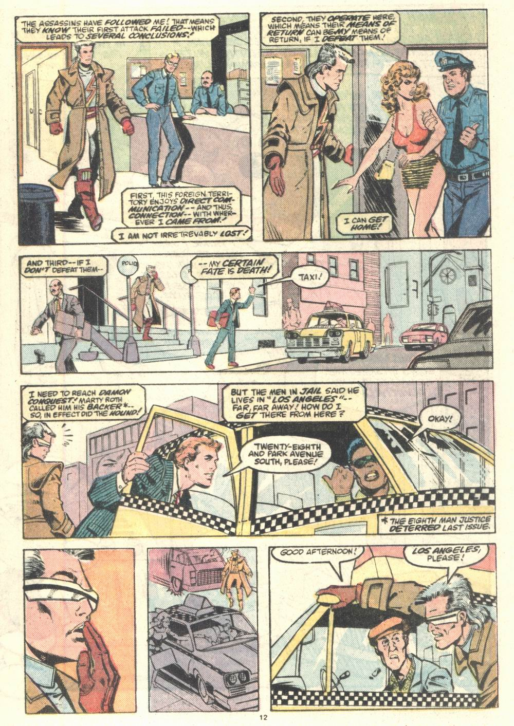 Read online Justice (1986) comic -  Issue #2 - 13