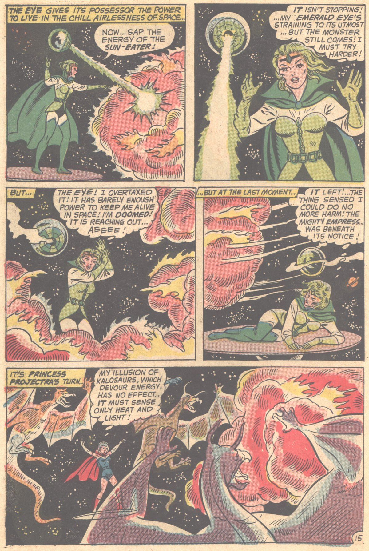 Read online Adventure Comics (1938) comic -  Issue #353 - 22