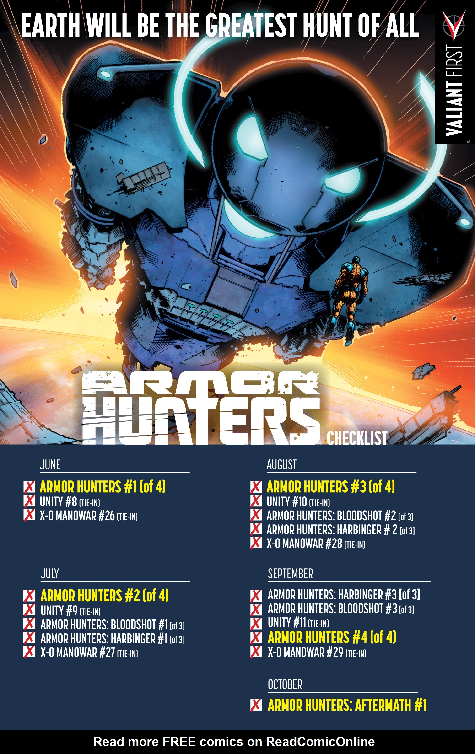 Read online Armor Hunters: Aftermath comic -  Issue # Full - 26