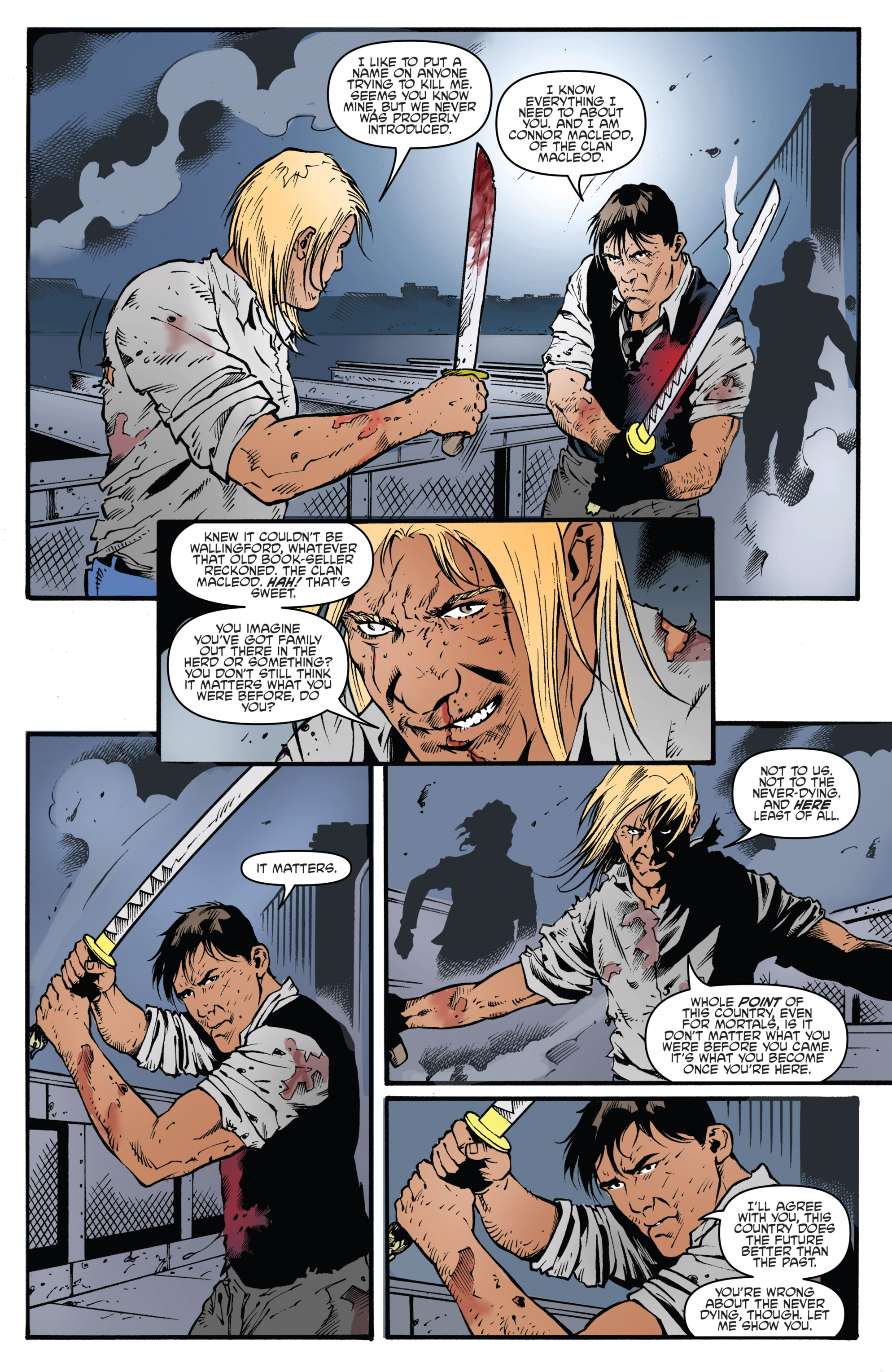 Read online Highlander: The American Dream comic -  Issue #4 - 7