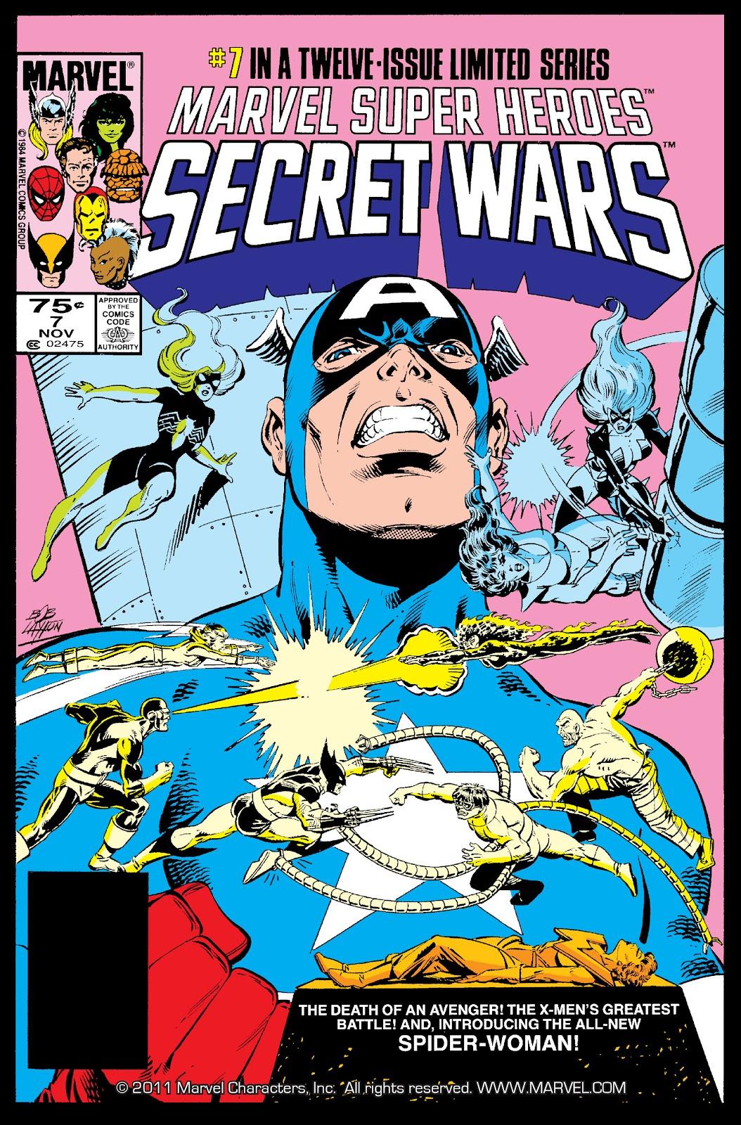 Marvel Super Heroes Secret Wars (1984) 7 Page 1