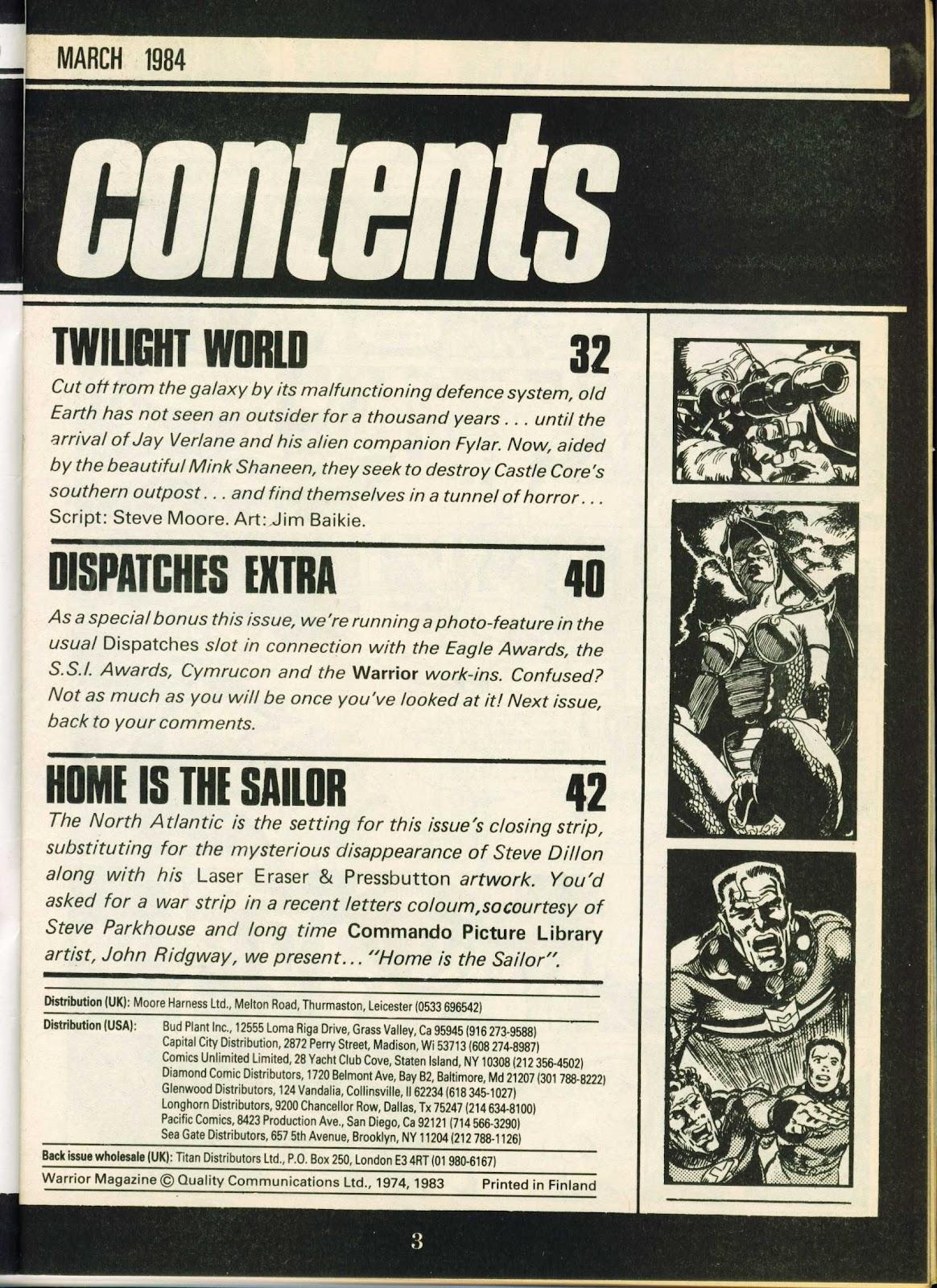 Warrior Issue #17 #18 - English 3