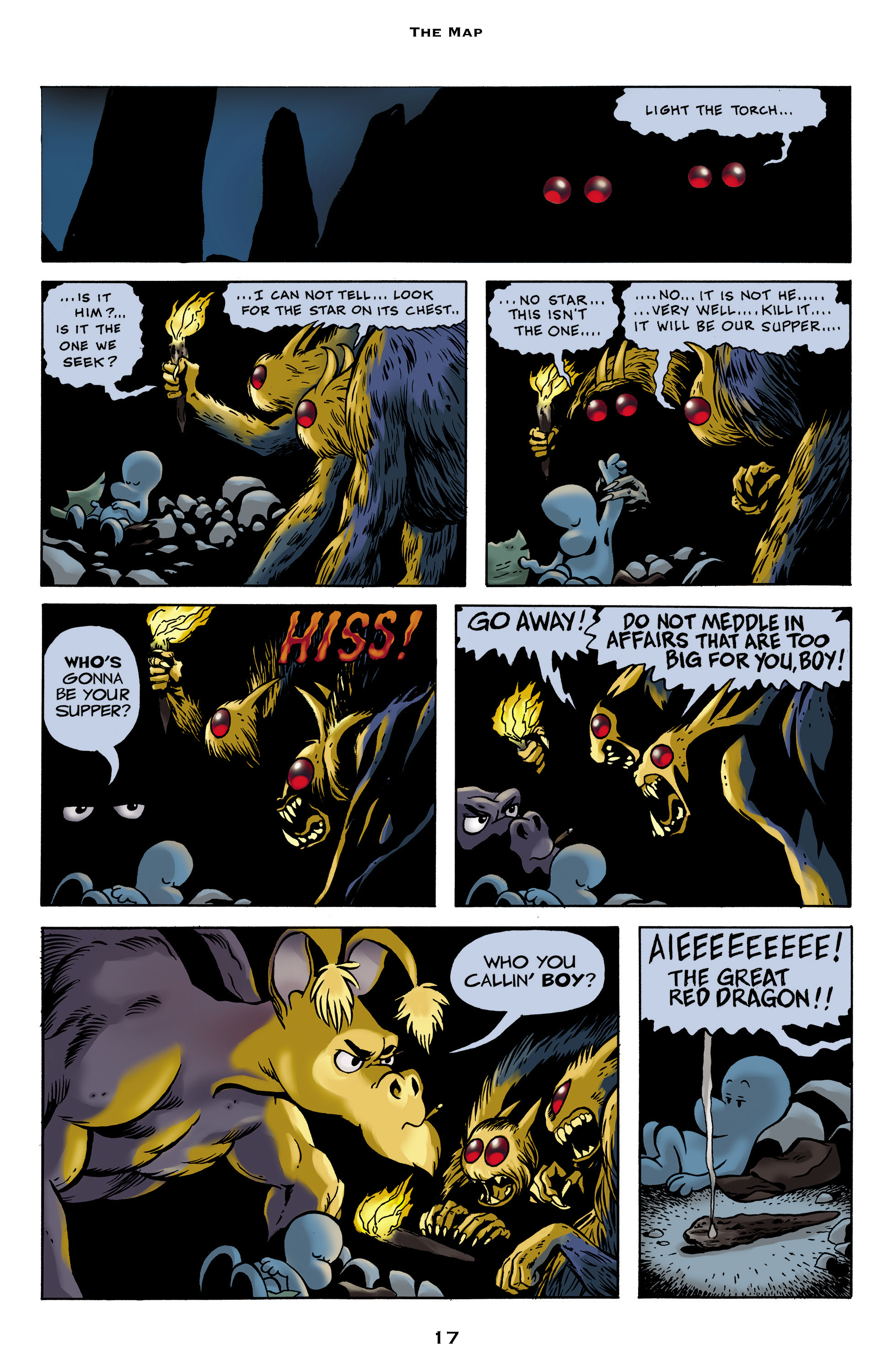 Read online Bone: Out From Boneville comic -  Issue # TPB - 17