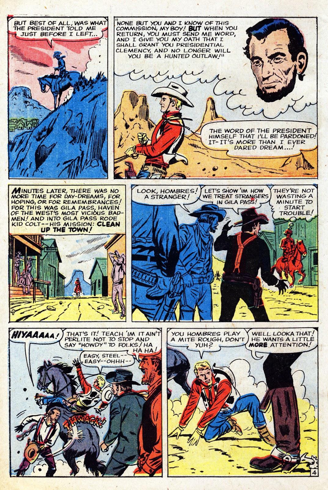 Gunsmoke Western issue 61 - Page 6