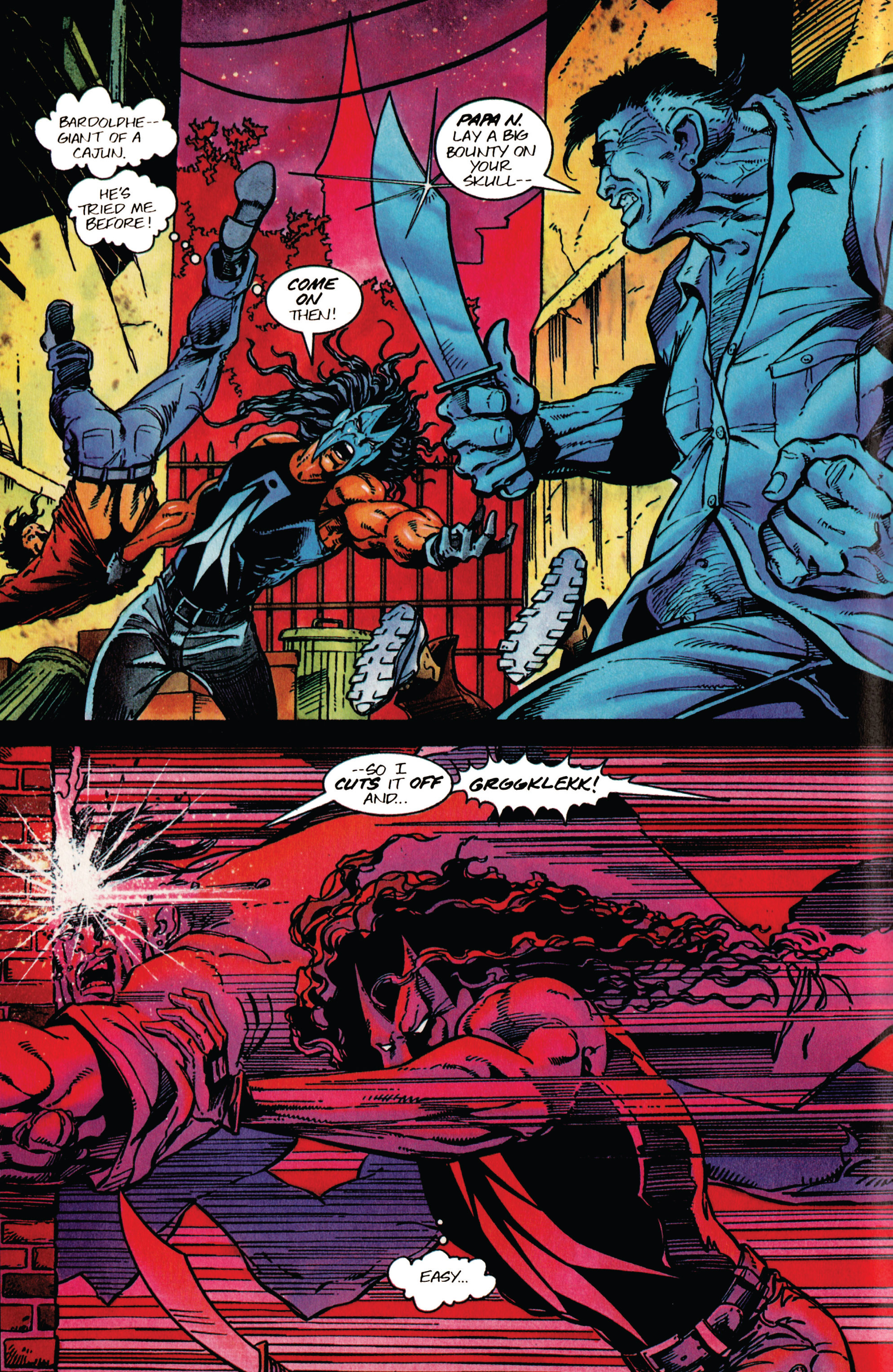 Read online Shadowman (1992) comic -  Issue #41 - 4