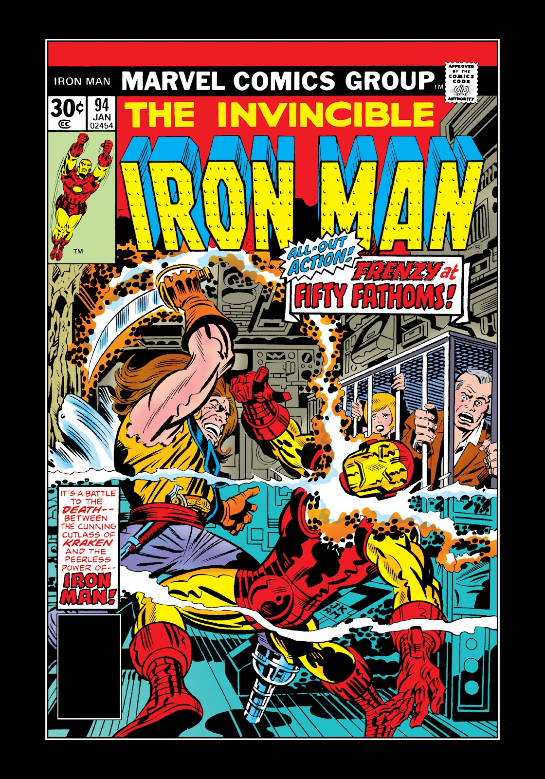 Read online Marvel Masterworks: The Invincible Iron Man comic -  Issue # TPB 11 (Part 3) - 66