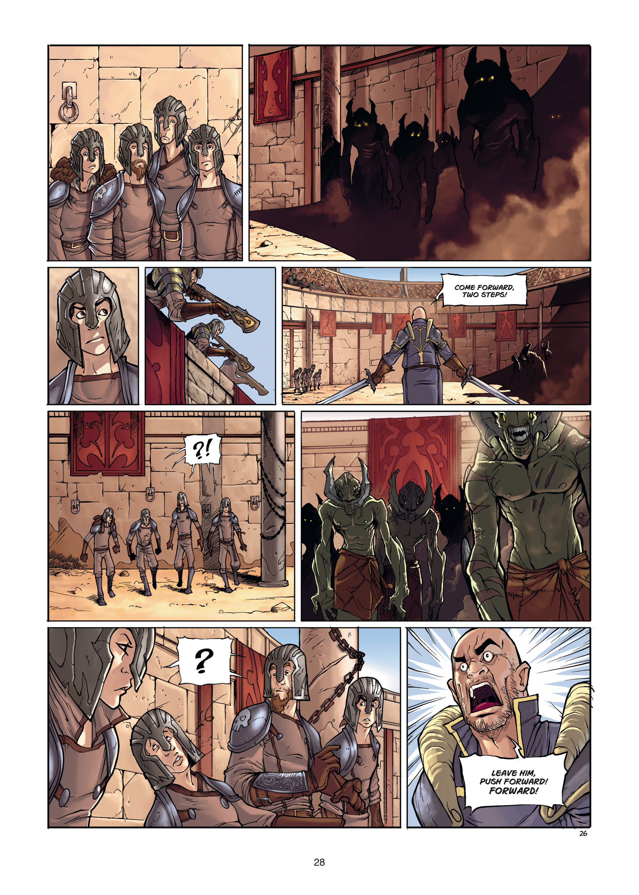 Read online Angor comic -  Issue #1 - 28