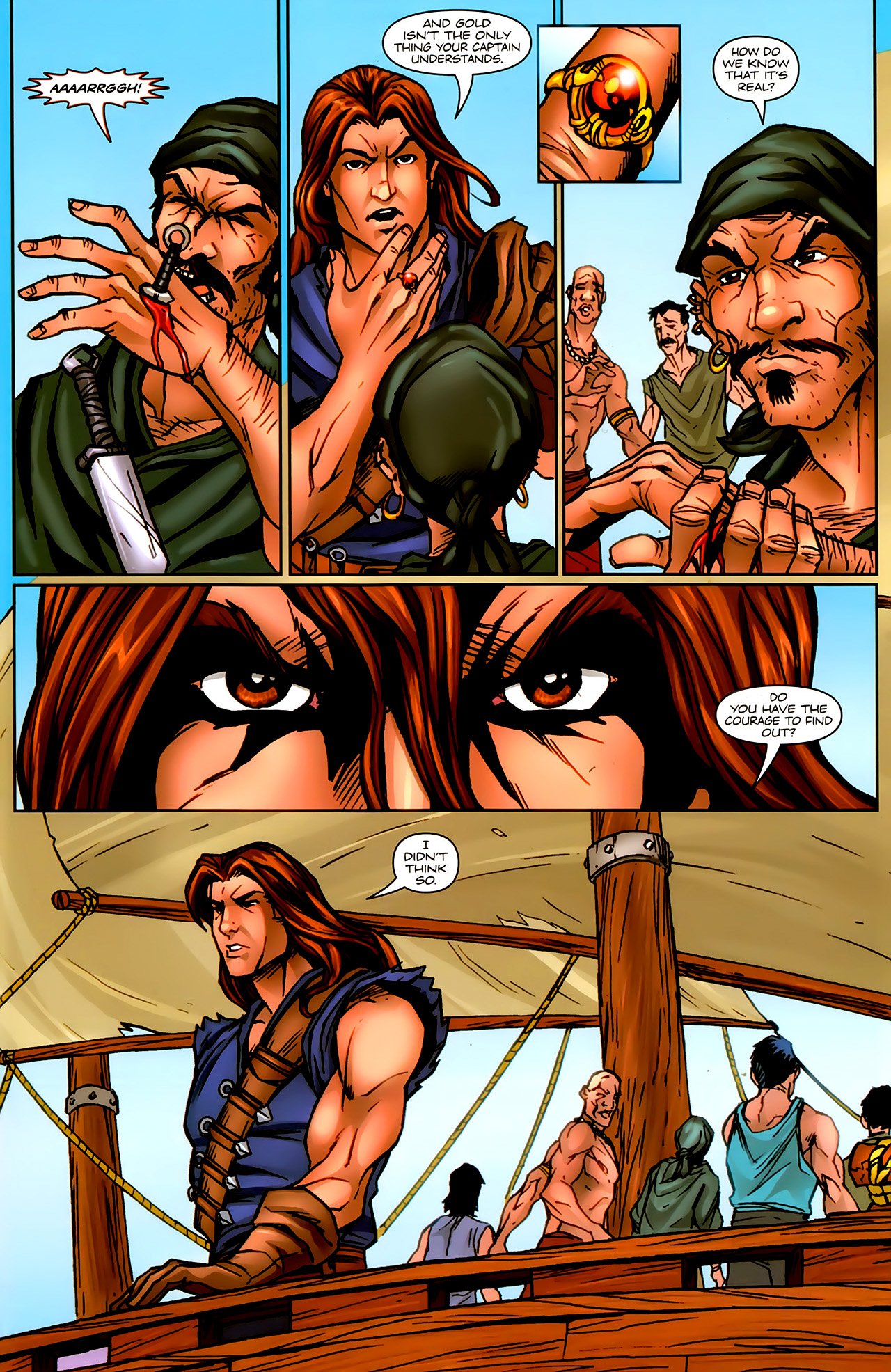 Read online 1001 Arabian Nights: The Adventures of Sinbad comic -  Issue #9 - 11