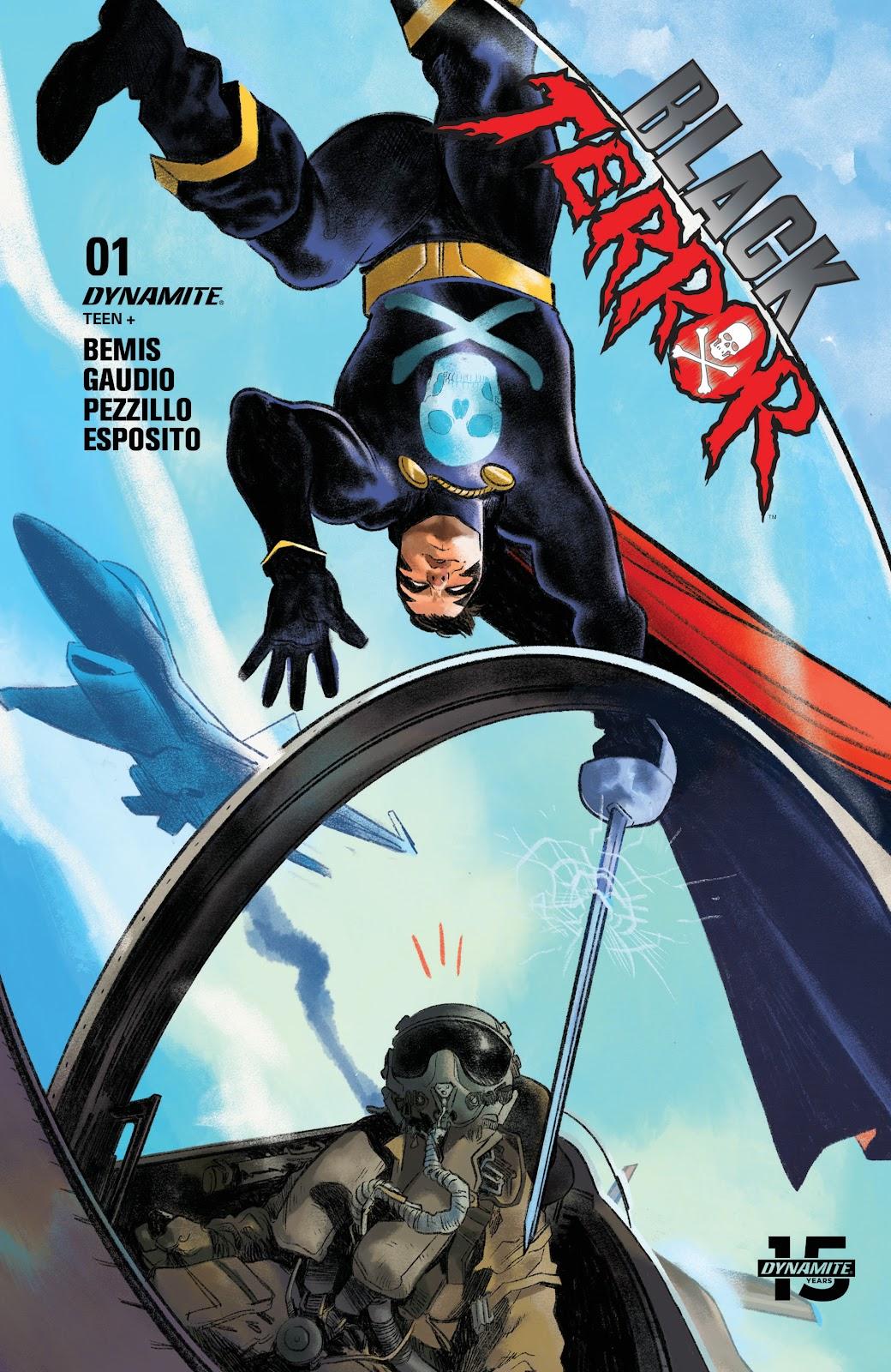 Read online Black Terror (2019) comic -  Issue # Full - 4