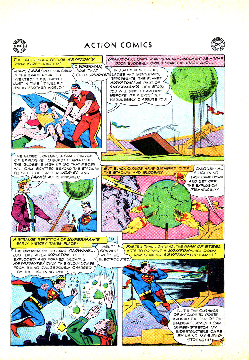 Read online Action Comics (1938) comic -  Issue #246 - 11