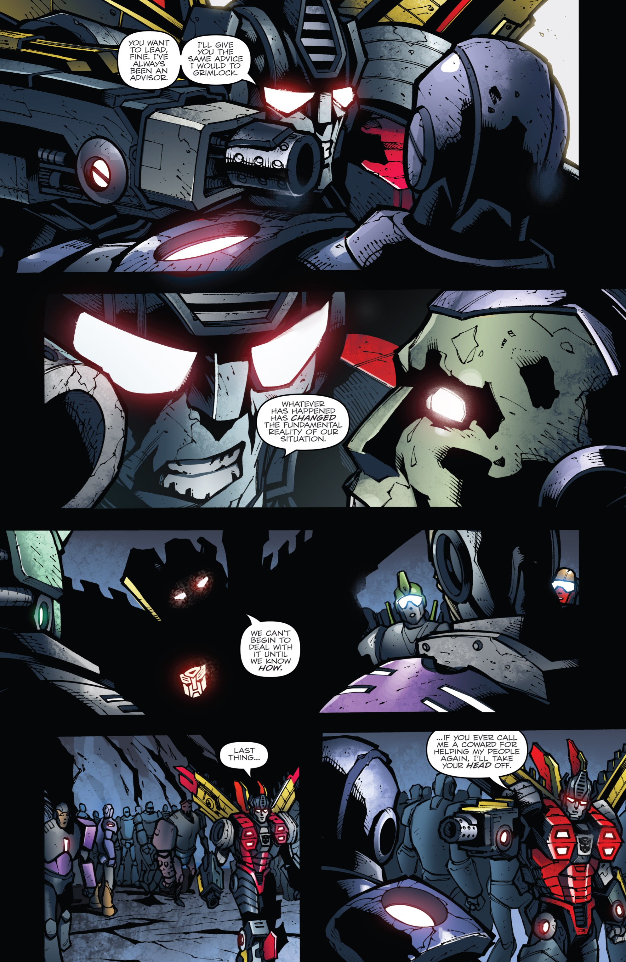 Read online Transformers Prime: Beast Hunters comic -  Issue #6 - 12