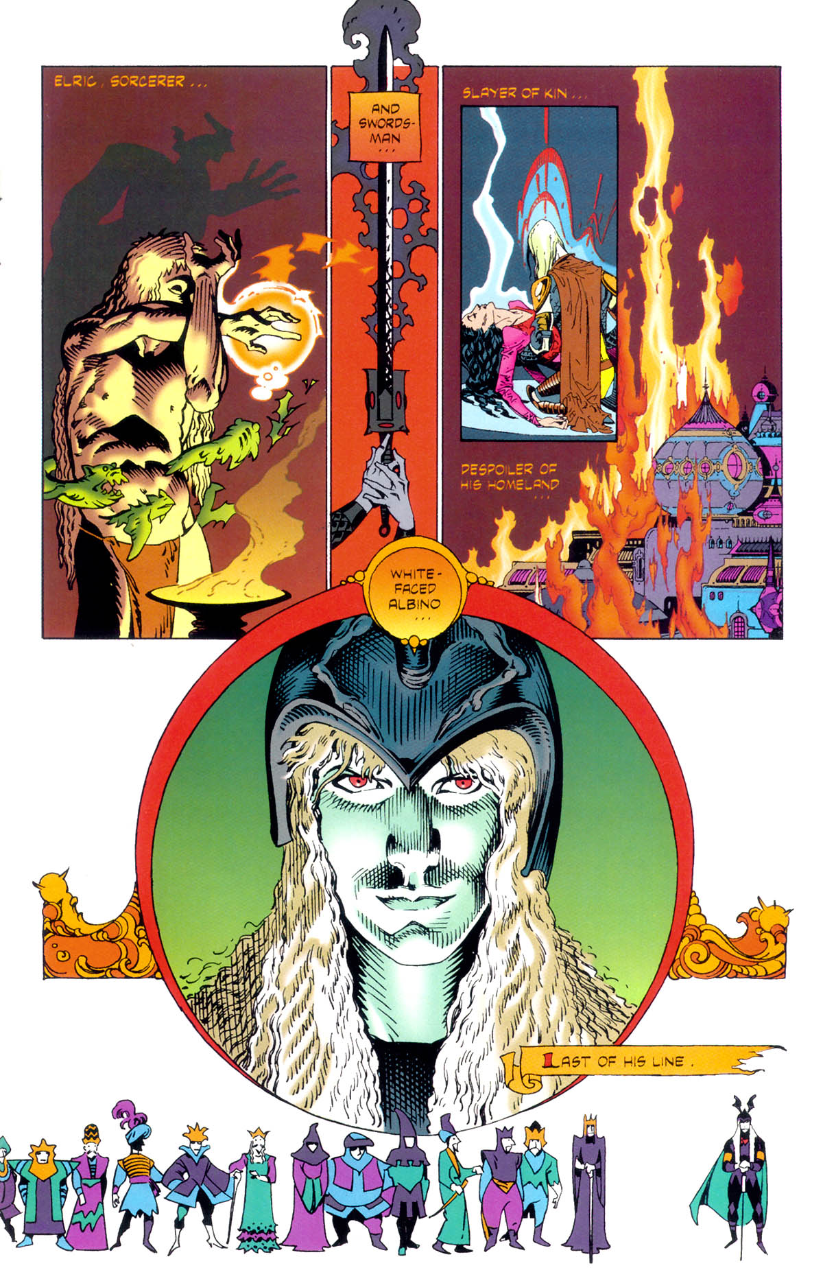 Read online Elric: Stormbringer comic -  Issue #1 - 5