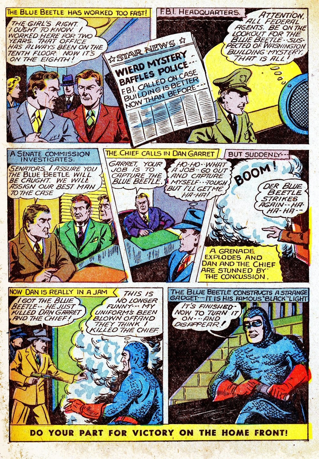 The Blue Beetle issue 31 - Page 5