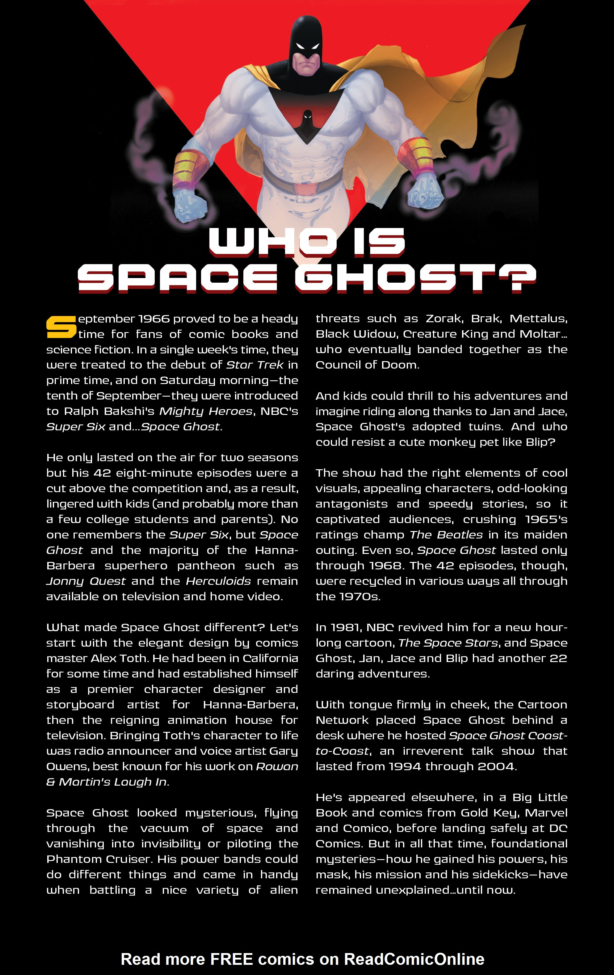 Read online Space Ghost (2016) comic -  Issue # Full - 5