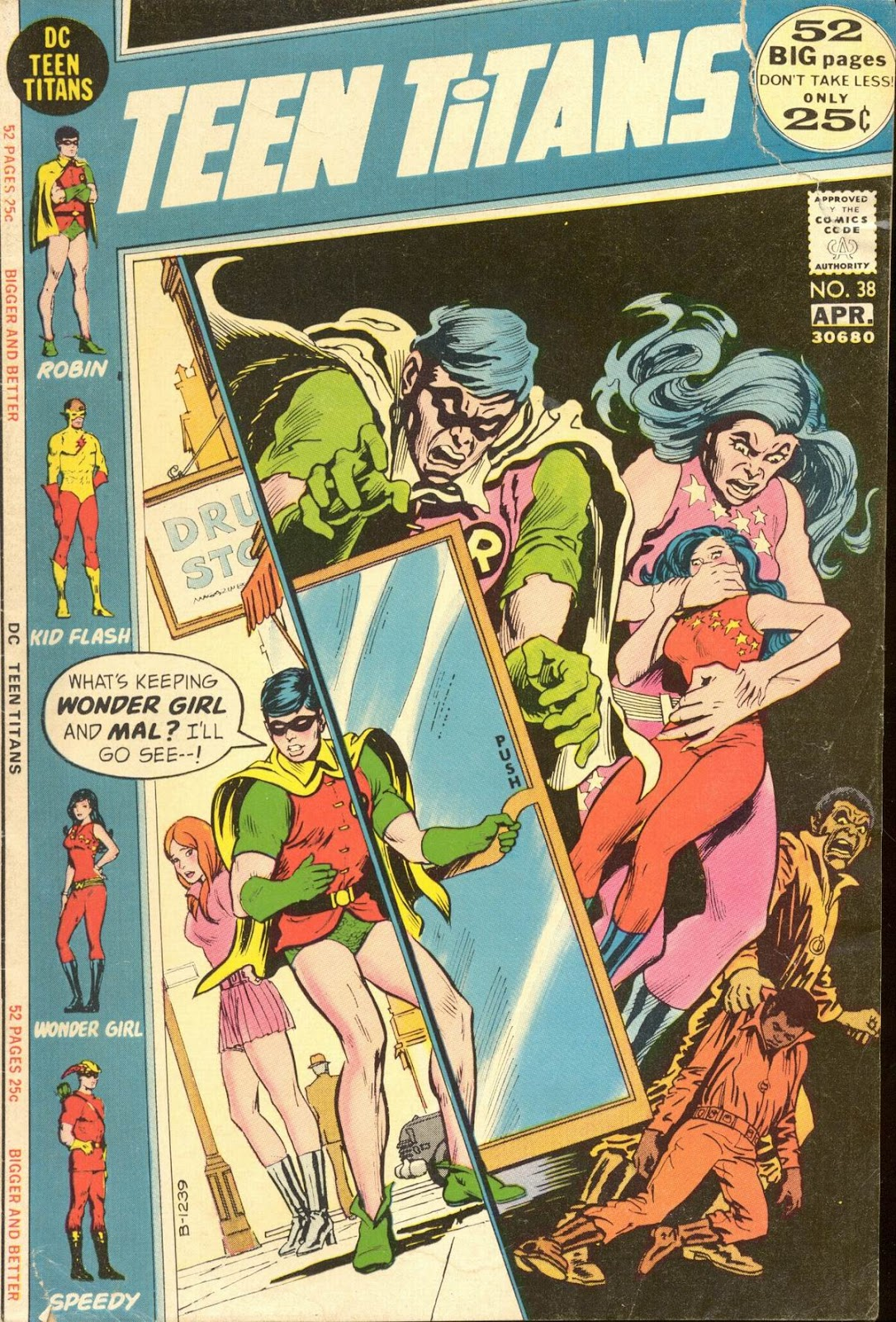 Teen Titans (1966) issue 38 - Page 1