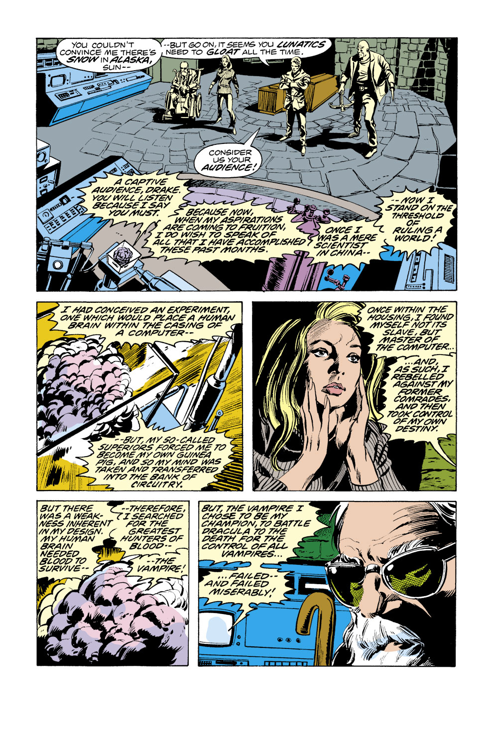 Tomb of Dracula (1972) issue 38 - Page 12