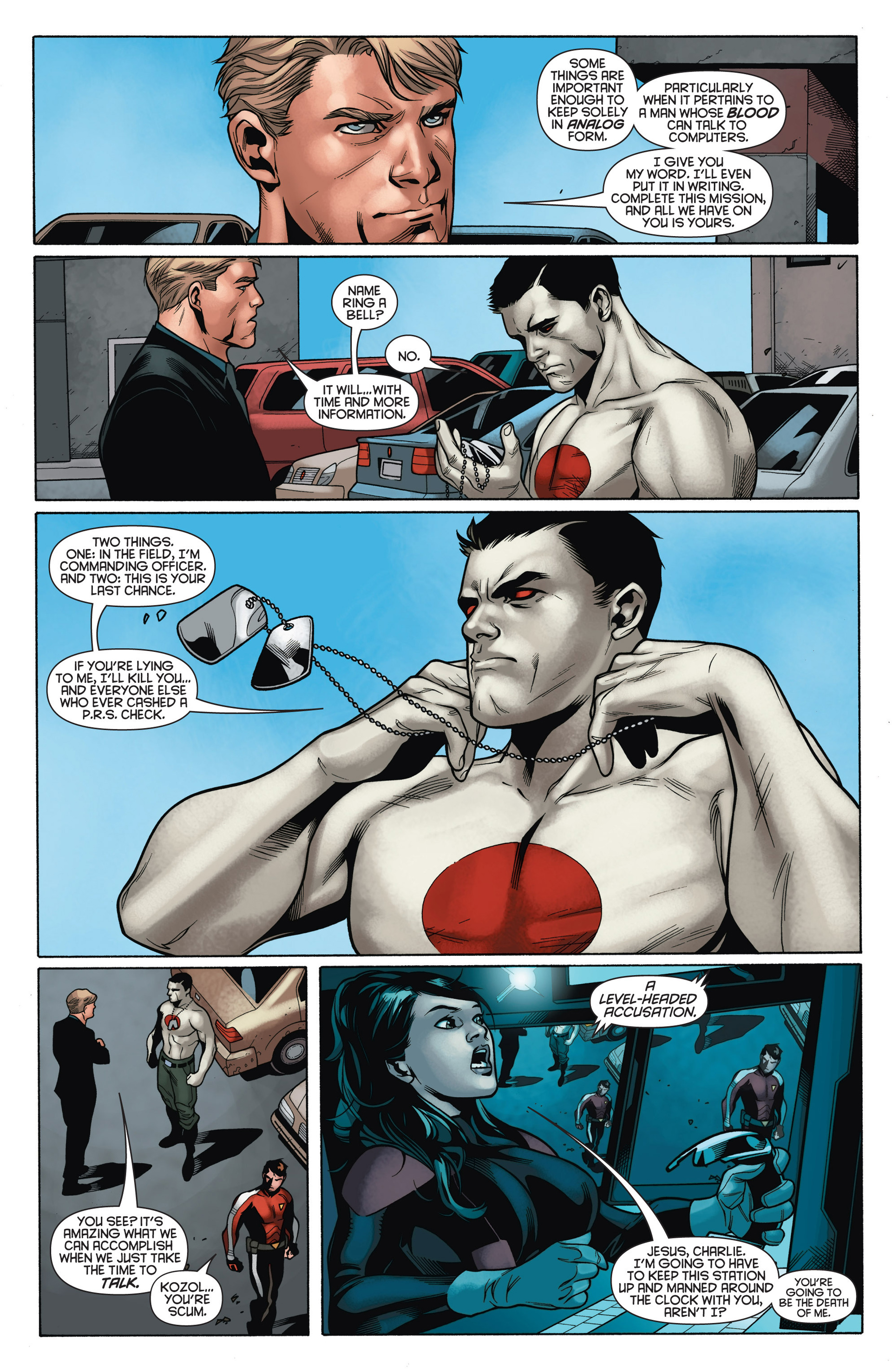 Read online Bloodshot and H.A.R.D.Corps comic -  Issue #15 - 21