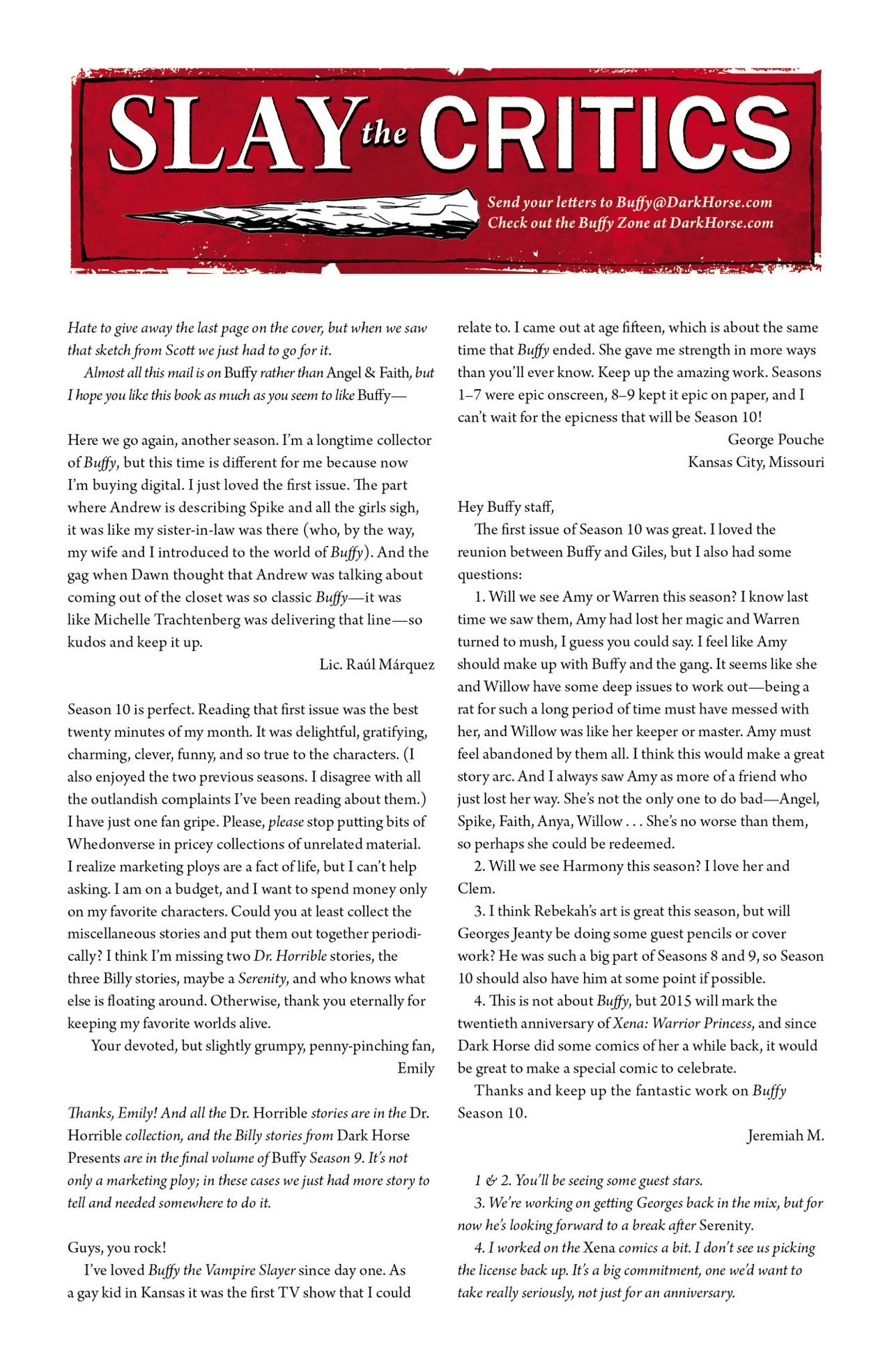 Read online Angel & Faith Season 10 comic -  Issue #3 - 25