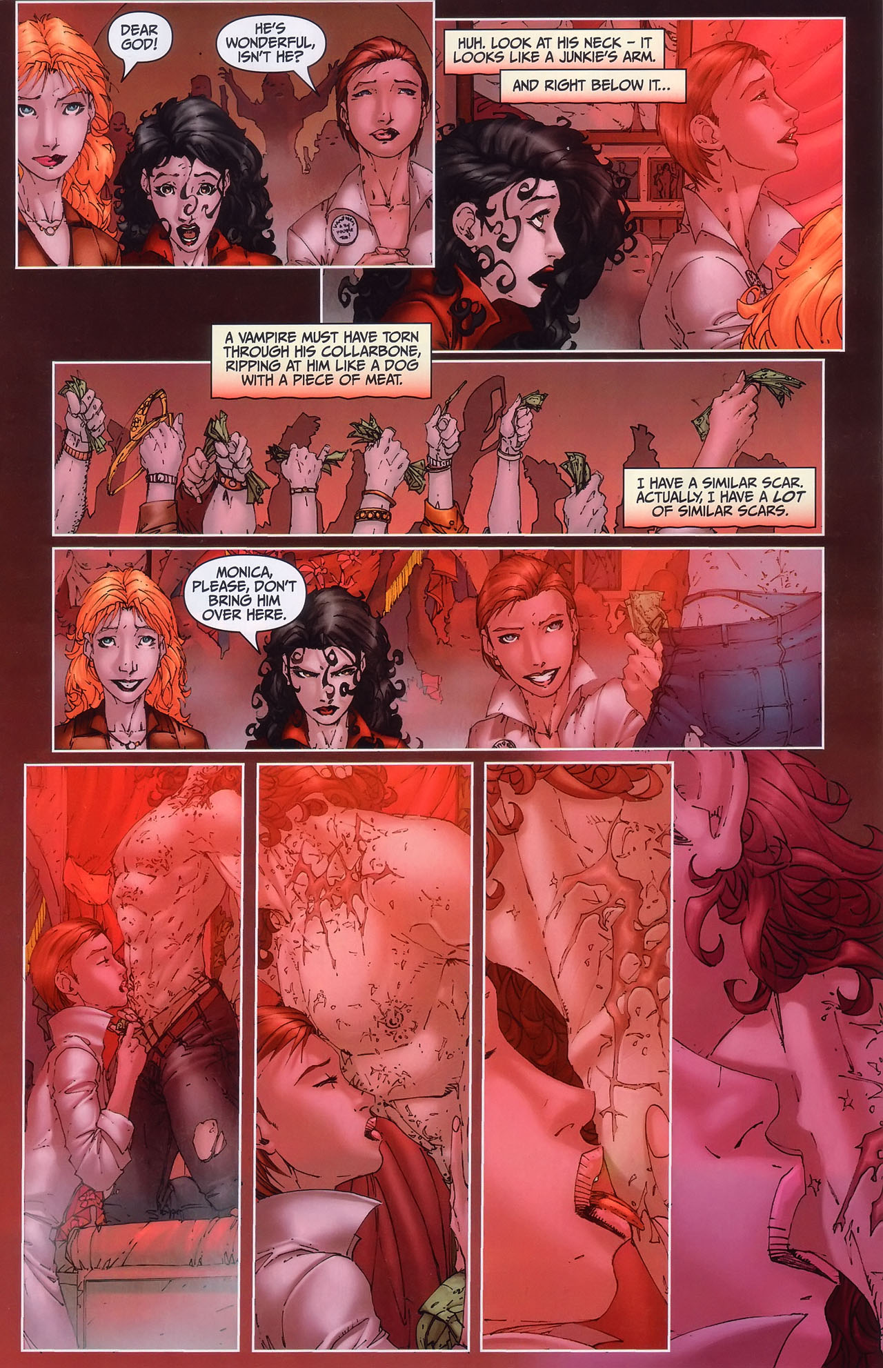 Read online Anita Blake, Vampire Hunter: Guilty Pleasures comic -  Issue #1 - 14