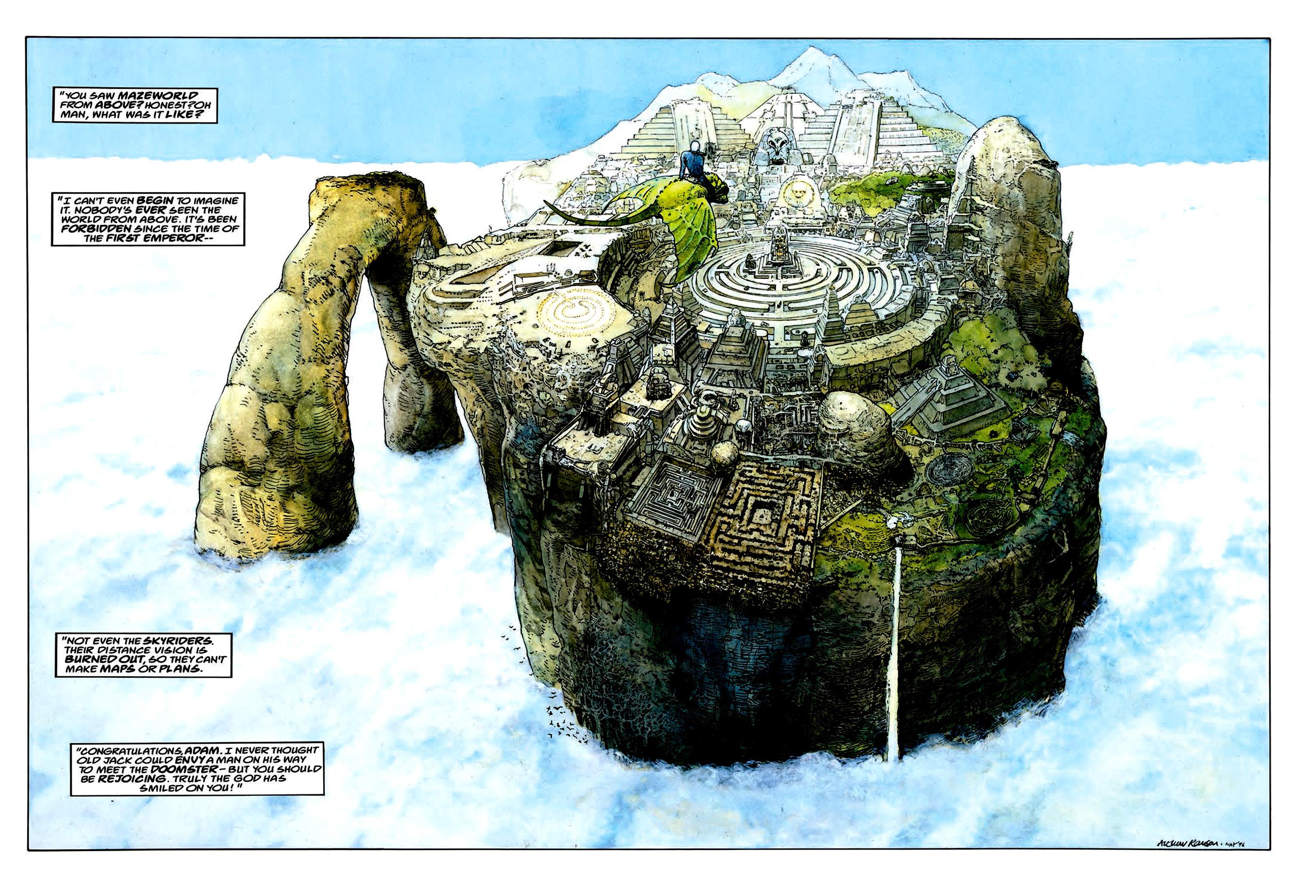 Read online Mazeworld comic -  Issue # TPB - 25