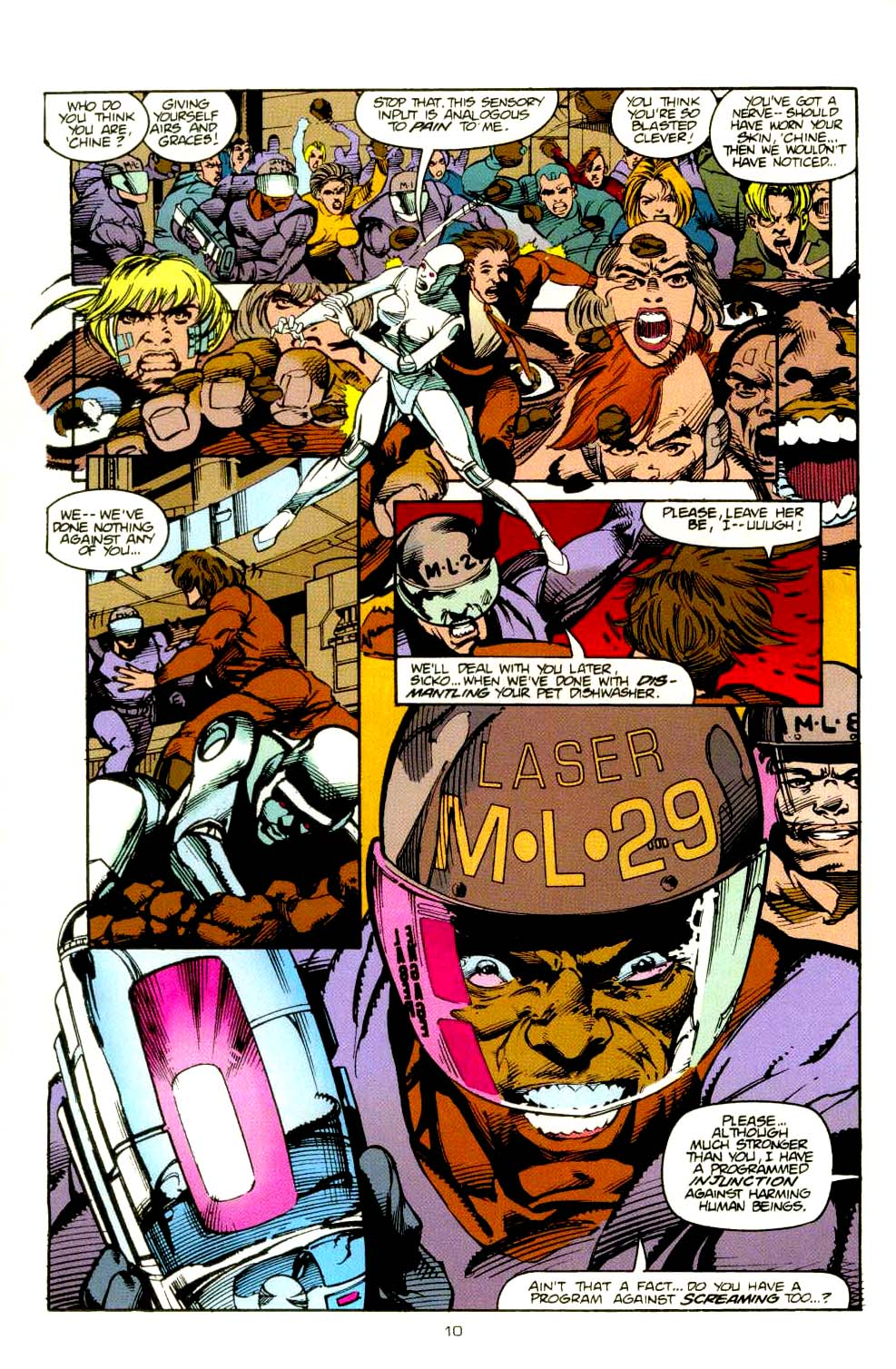Read online 2099 Unlimited comic -  Issue #8 - 10