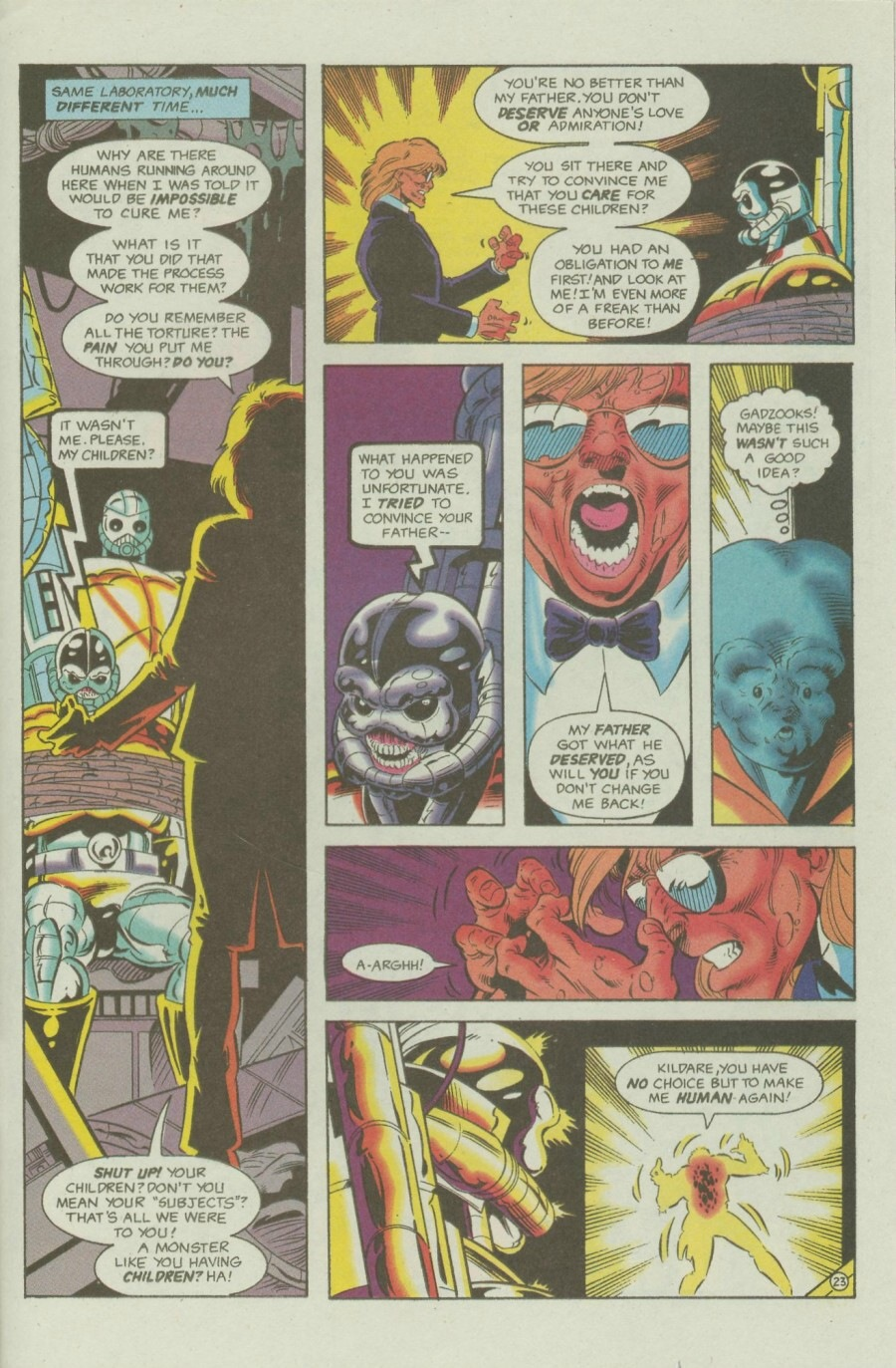 Read online Ex-Mutants comic -  Issue #6 - 29
