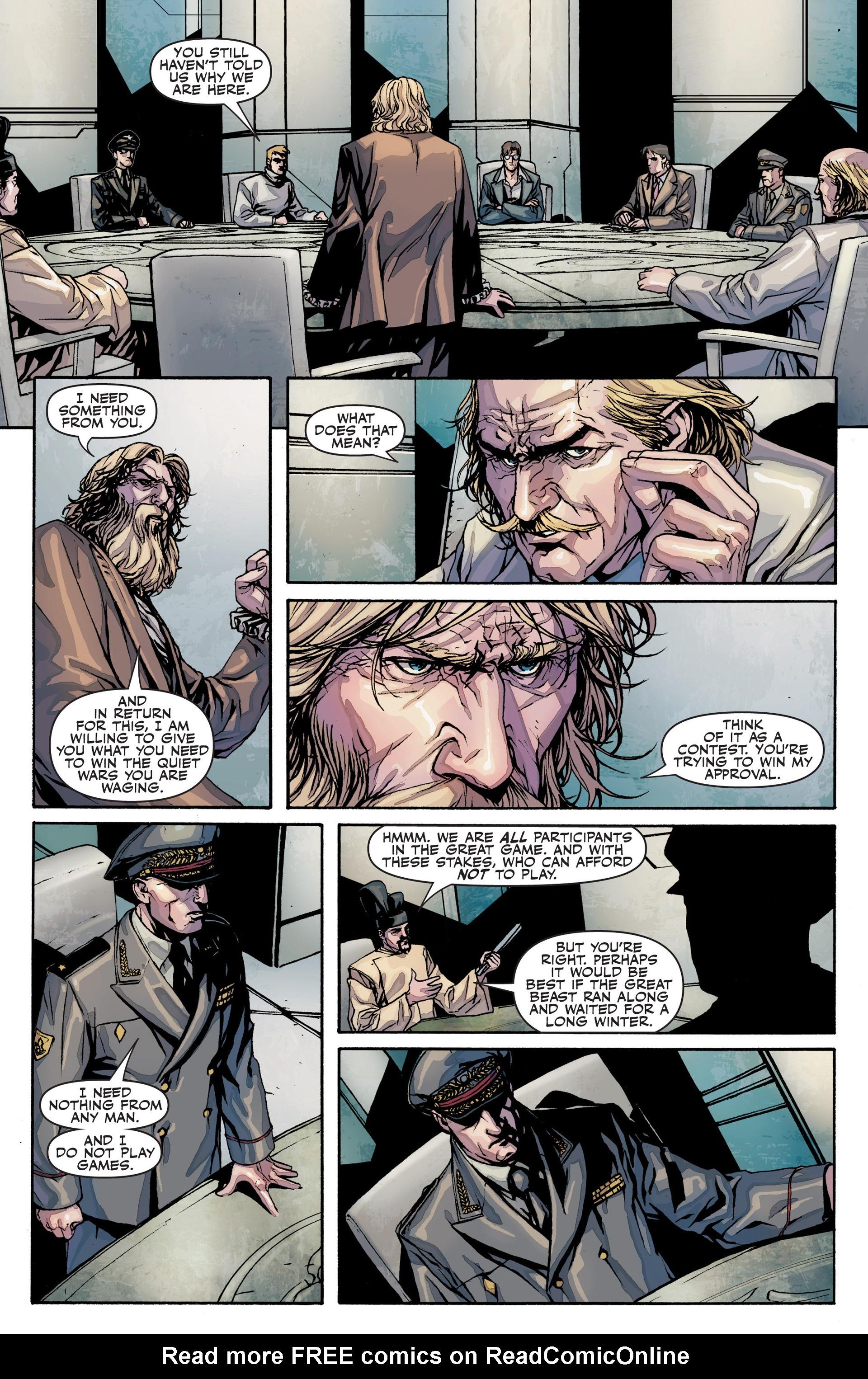Read online Secret Warriors comic -  Issue #25 - 10