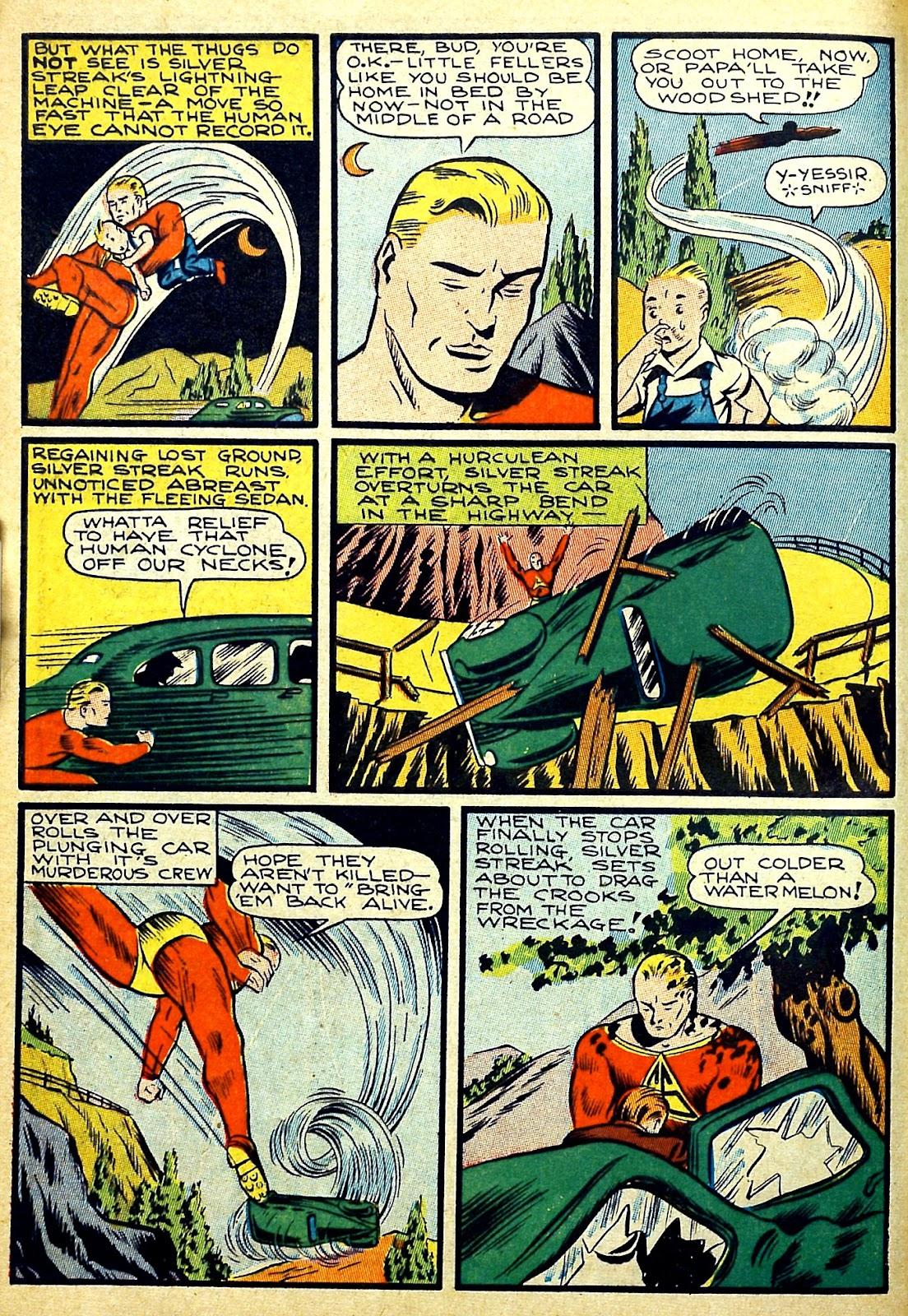 Read online Silver Streak Comics comic -  Issue #22 - 12