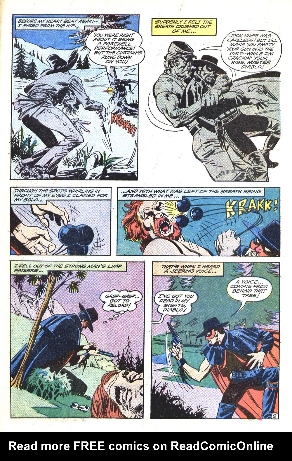 Read online All-Star Western (1970) comic -  Issue #5 - 31