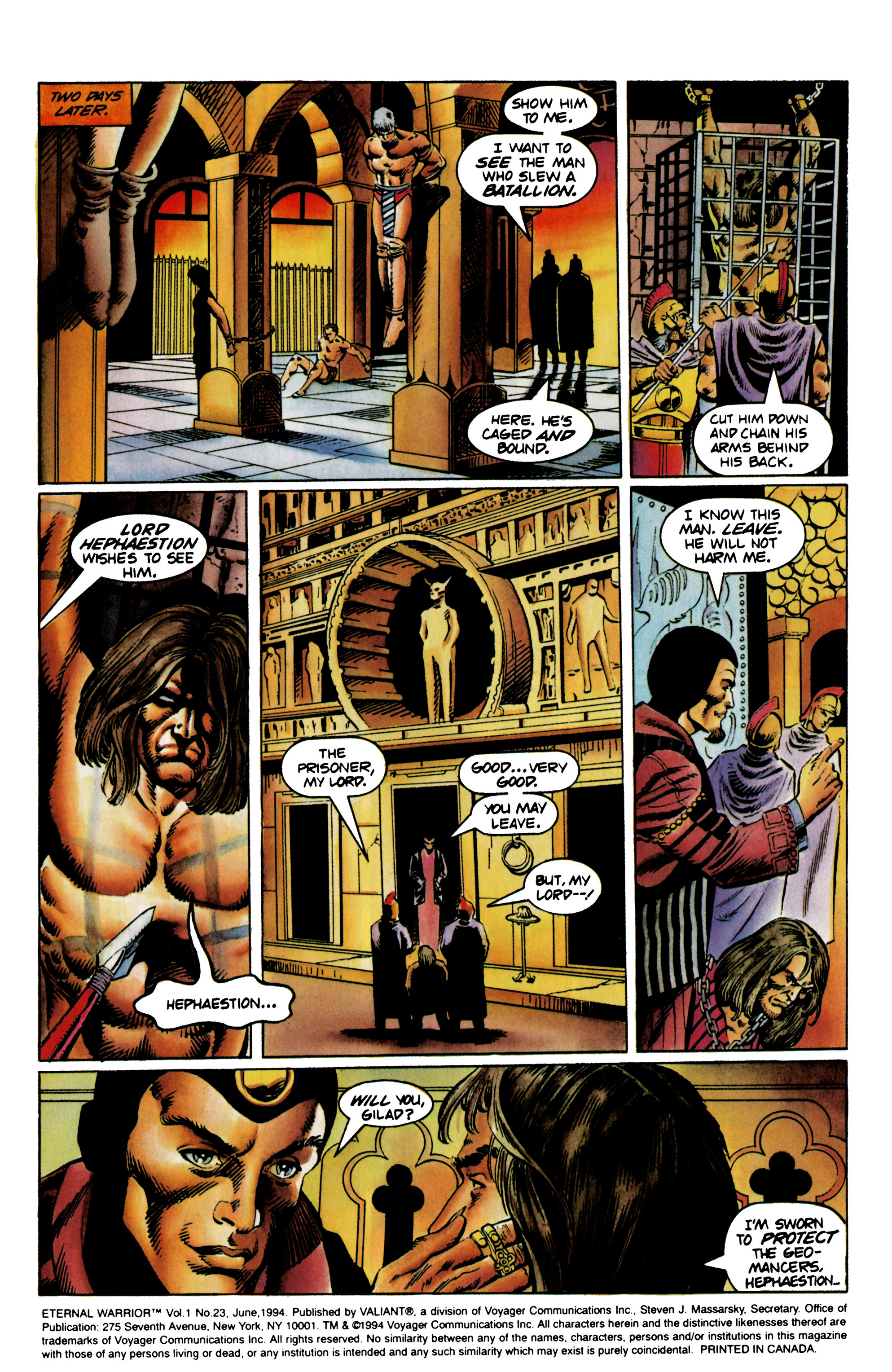 Read online Eternal Warrior (1992) comic -  Issue #23 - 4