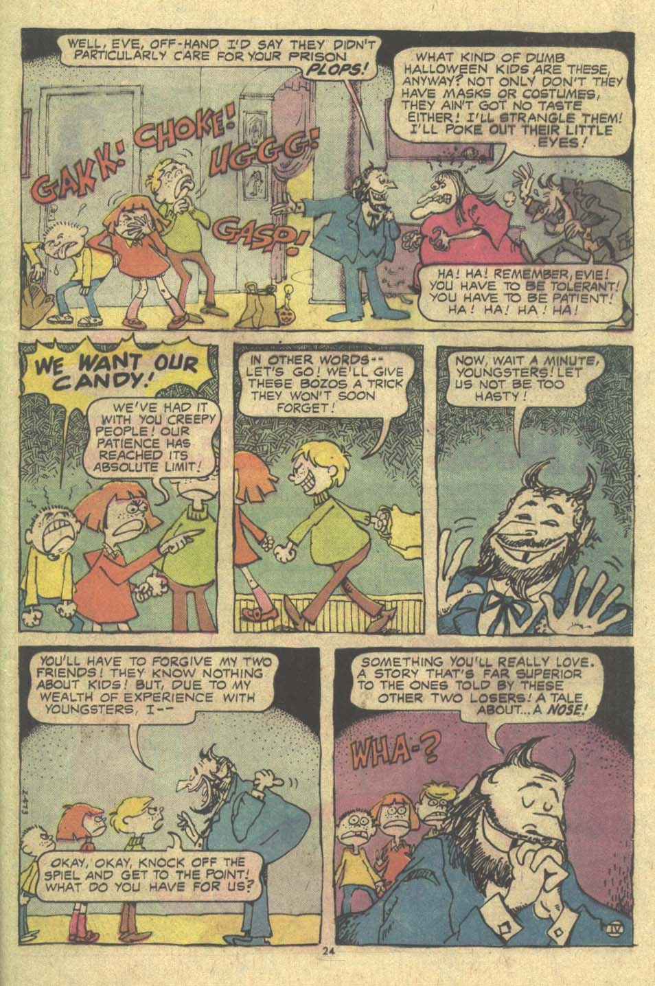 Read online Plop! comic -  Issue #9 - 25