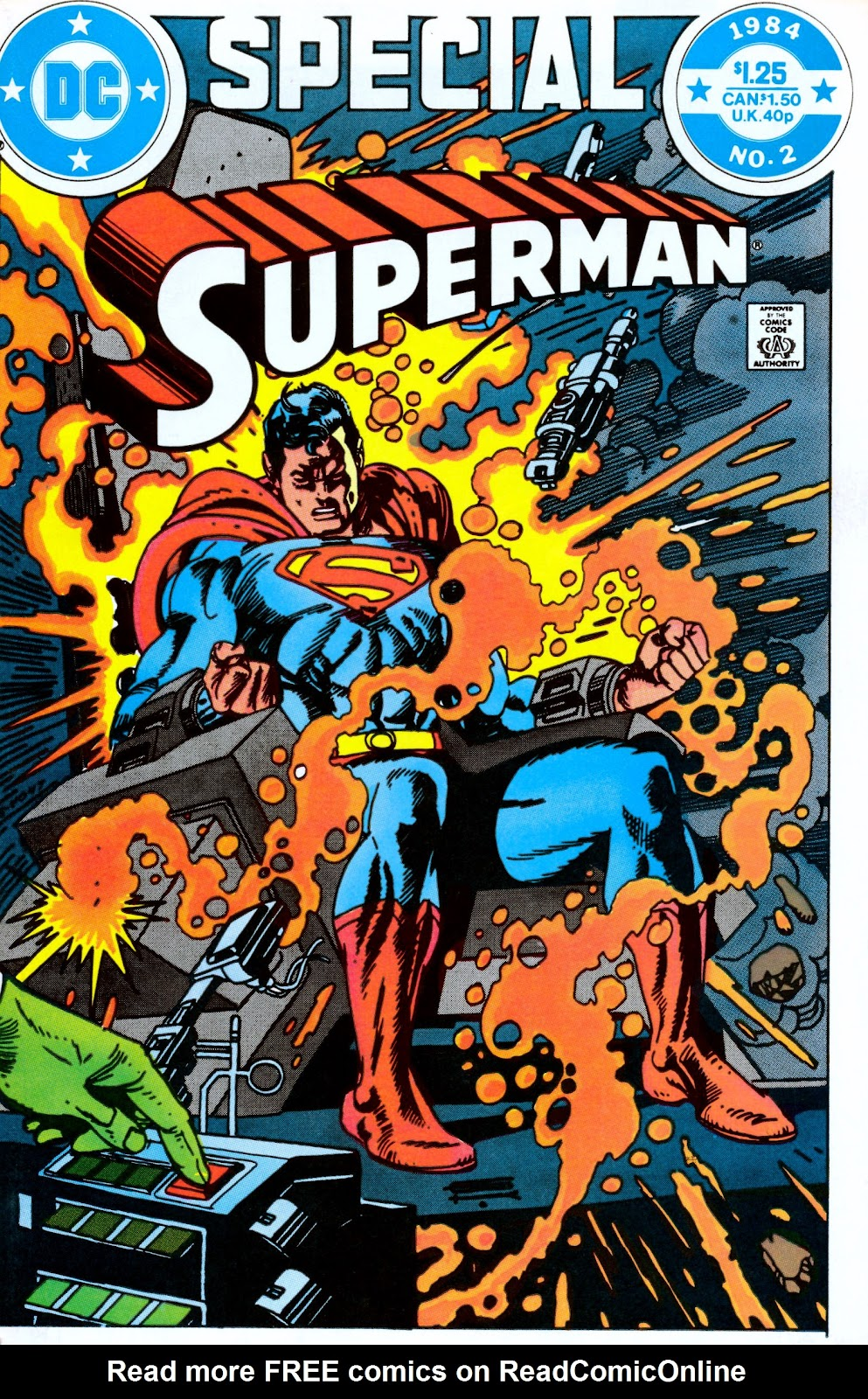Read online Superman Special (1983) comic -  Issue #2 - 1