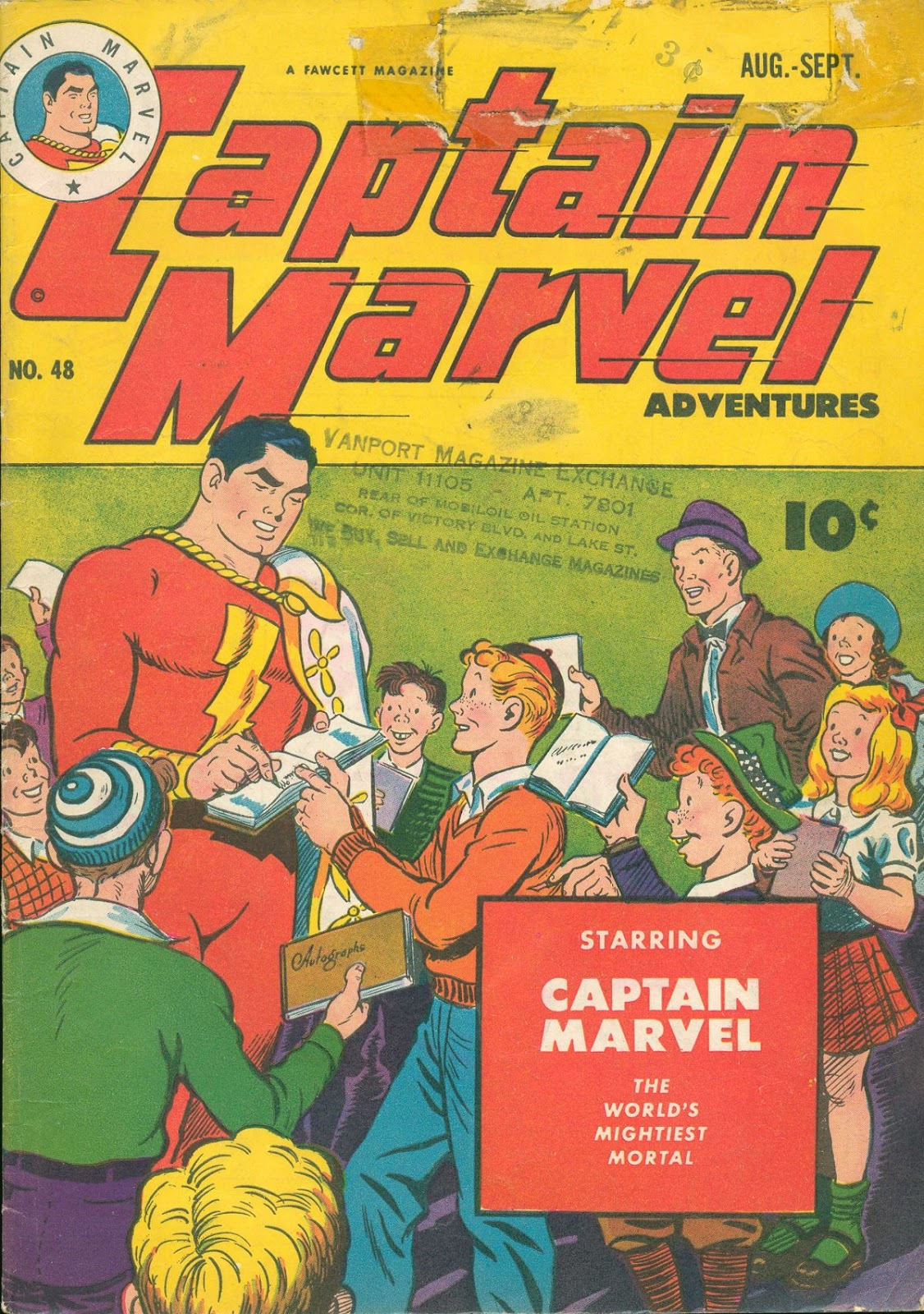 Captain Marvel Adventures 48 Page 1
