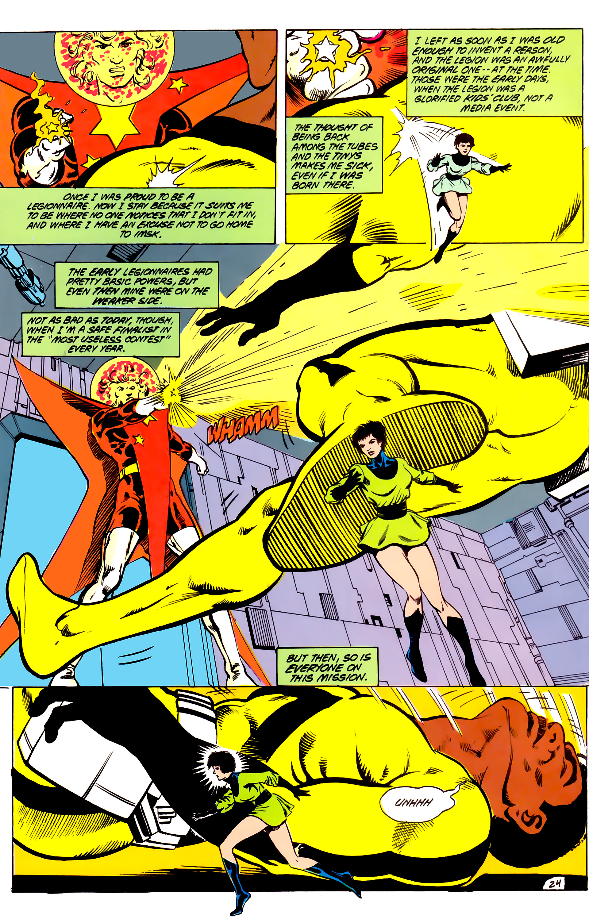 Legion of Super-Heroes (1984) _Annual_4 Page 24