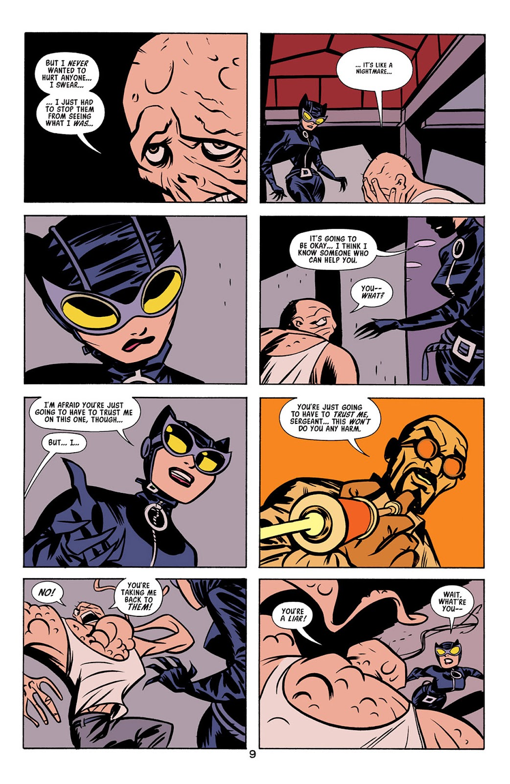 Catwoman (2002) Issue #4 #4 - English 10