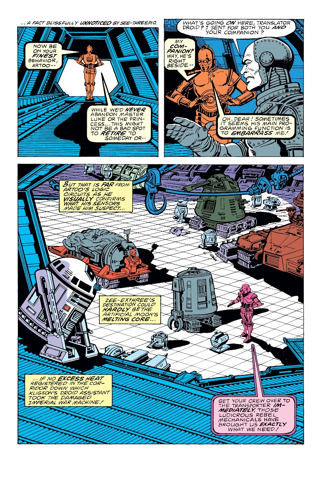 Read online Star Wars Legends: The Original Marvel Years - Epic Collection comic -  Issue # TPB 3 (Part 2) - 71