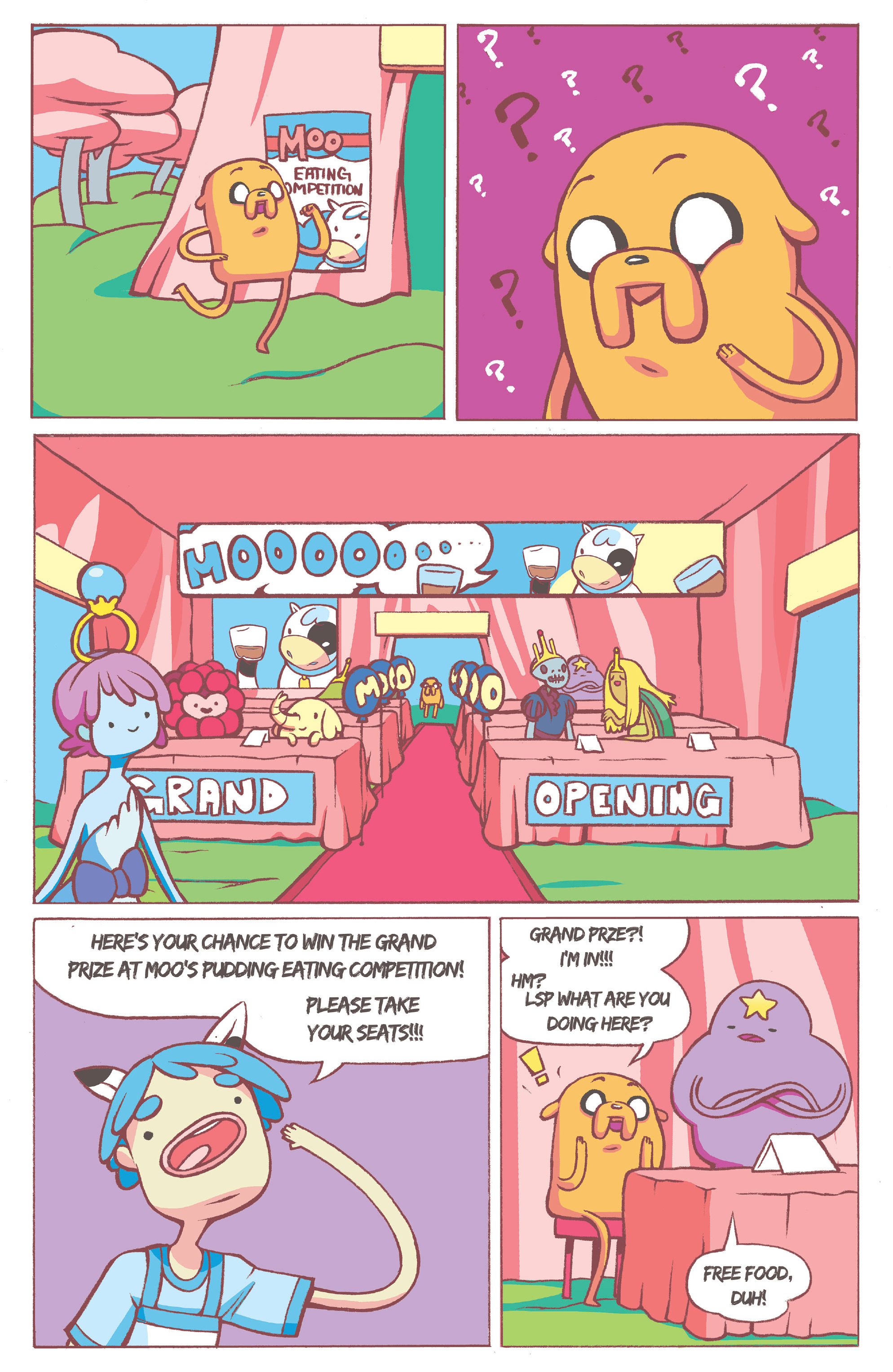 Read online Adventure Time comic -  Issue #36 - 20