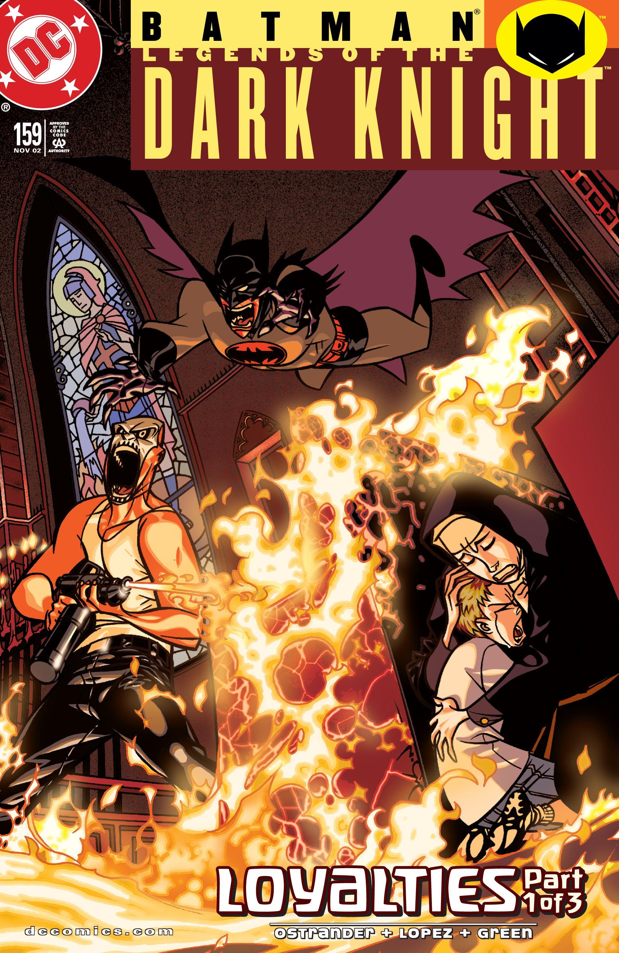 Batman: Legends of the Dark Knight 159 Page 1