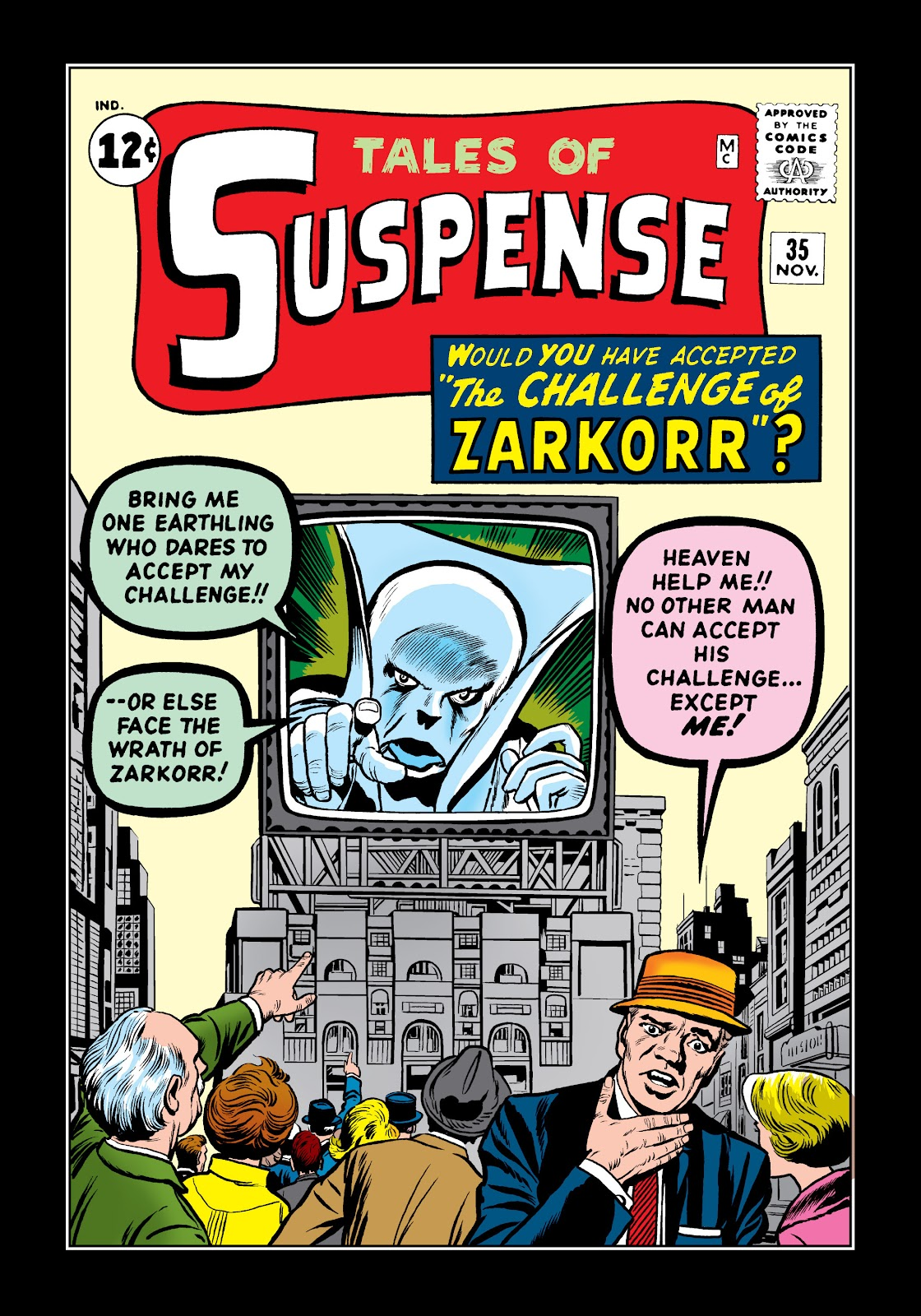 Tales of Suspense (1959) issue 35 - Page 1