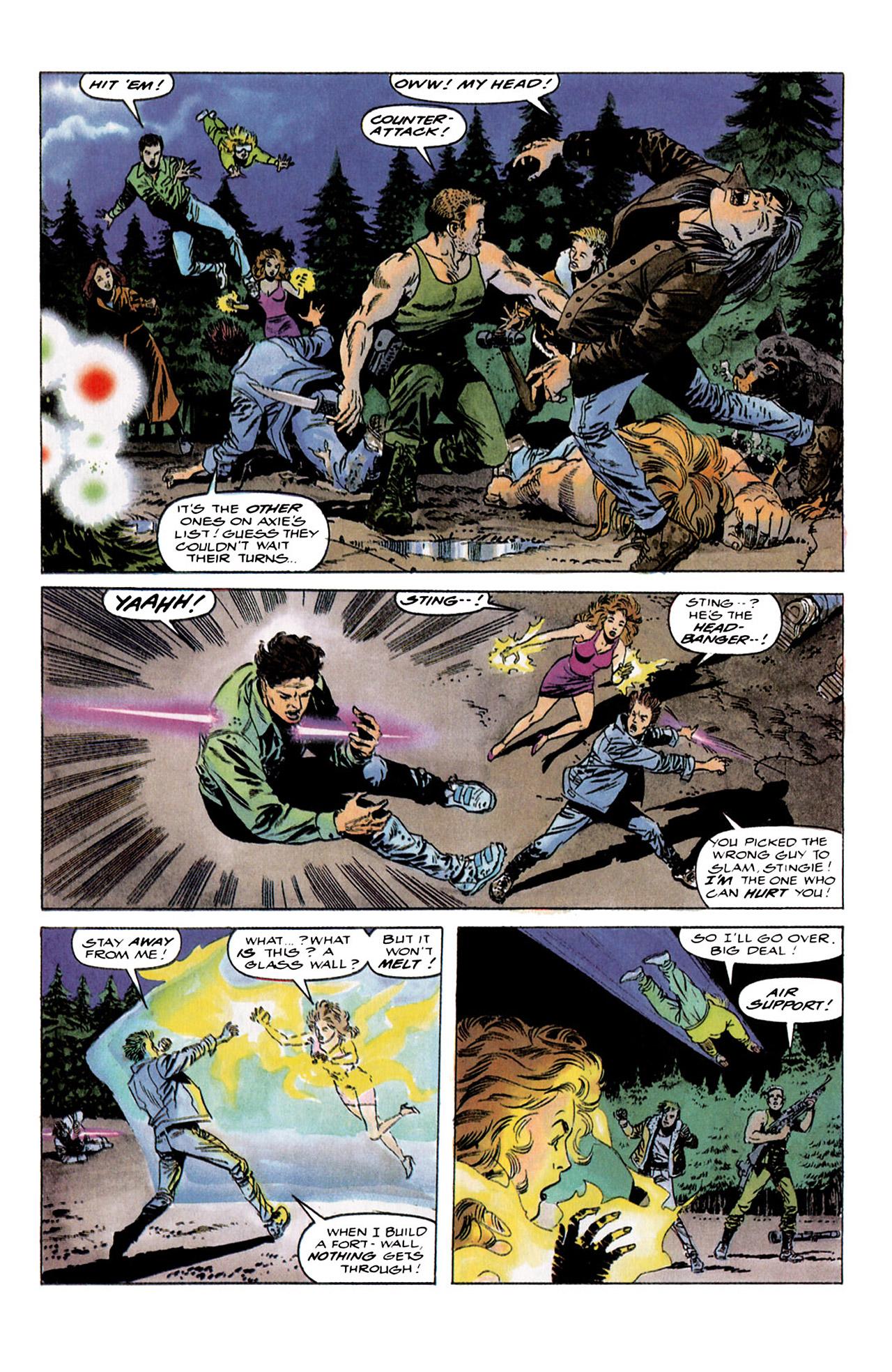 Read online Harbinger (1992) comic -  Issue #4 - 19