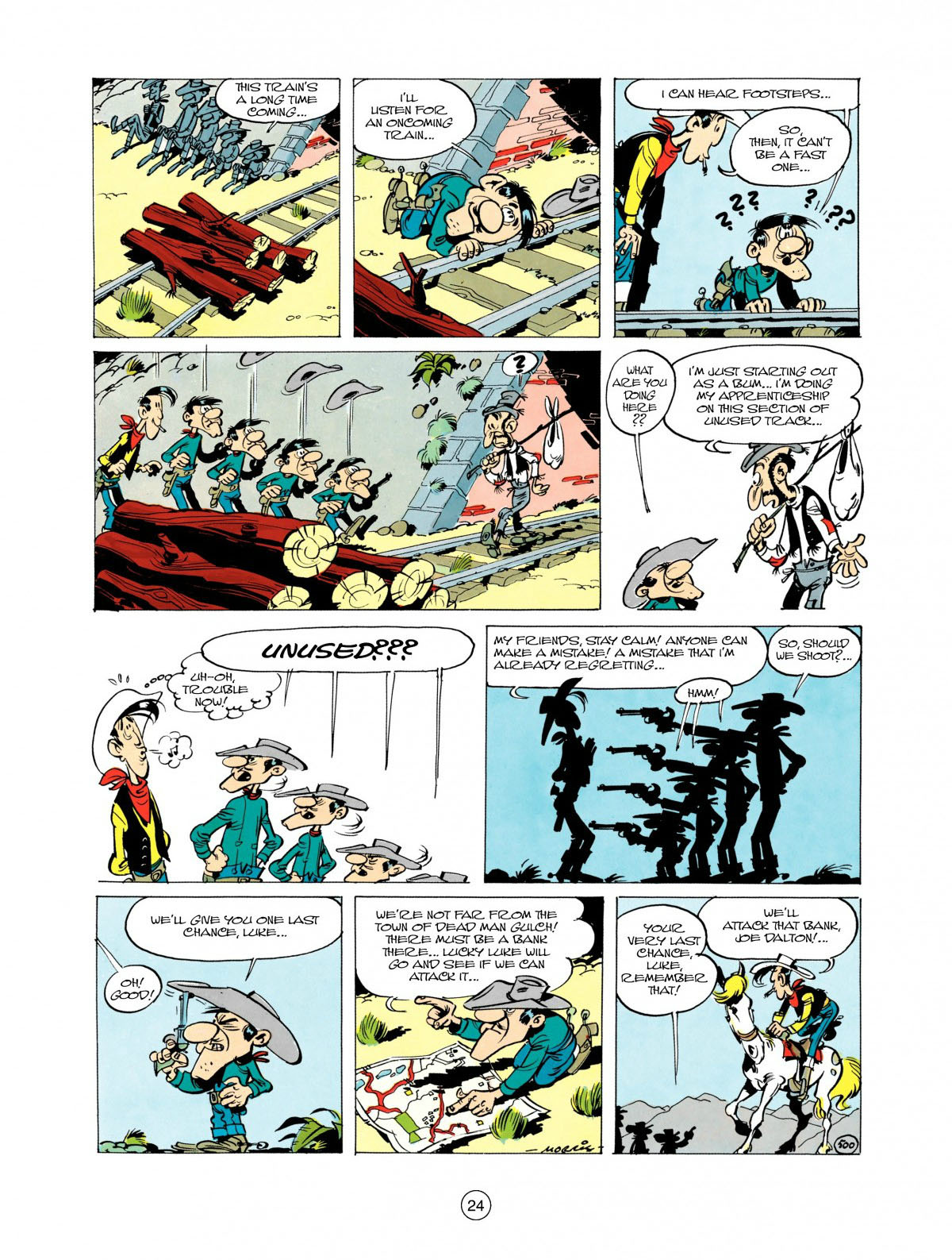 Read online A Lucky Luke Adventure comic -  Issue #28 - 25