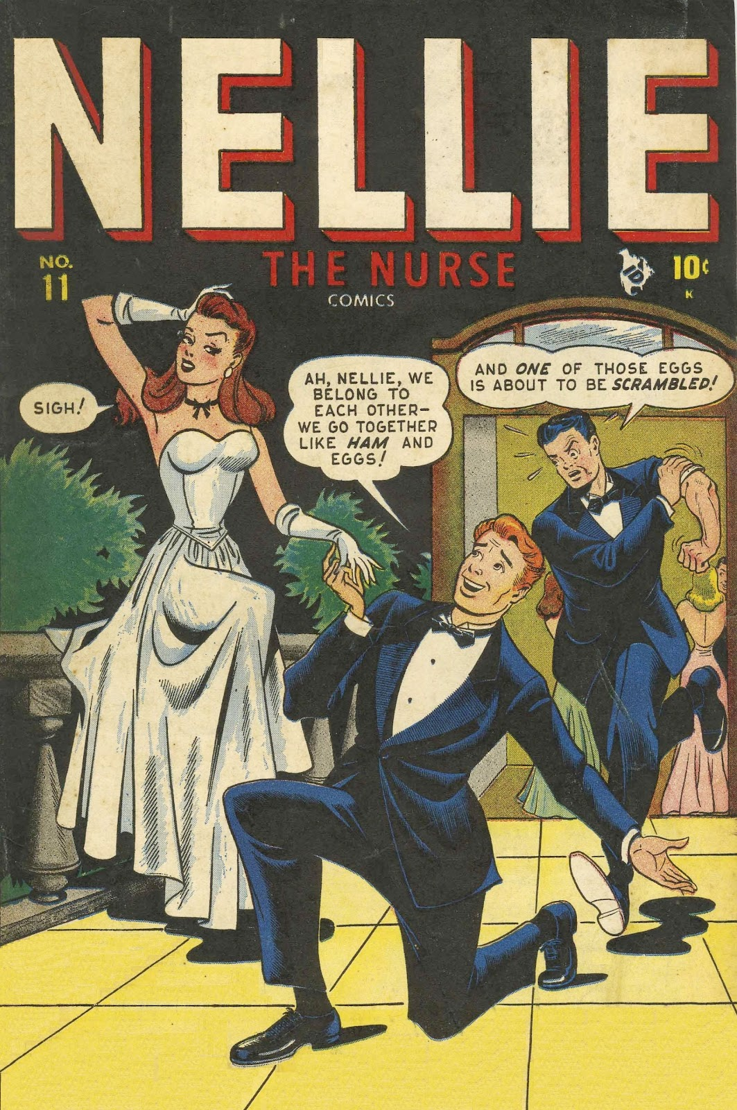 Read online Nellie The Nurse (1945) comic -  Issue #11 - 1