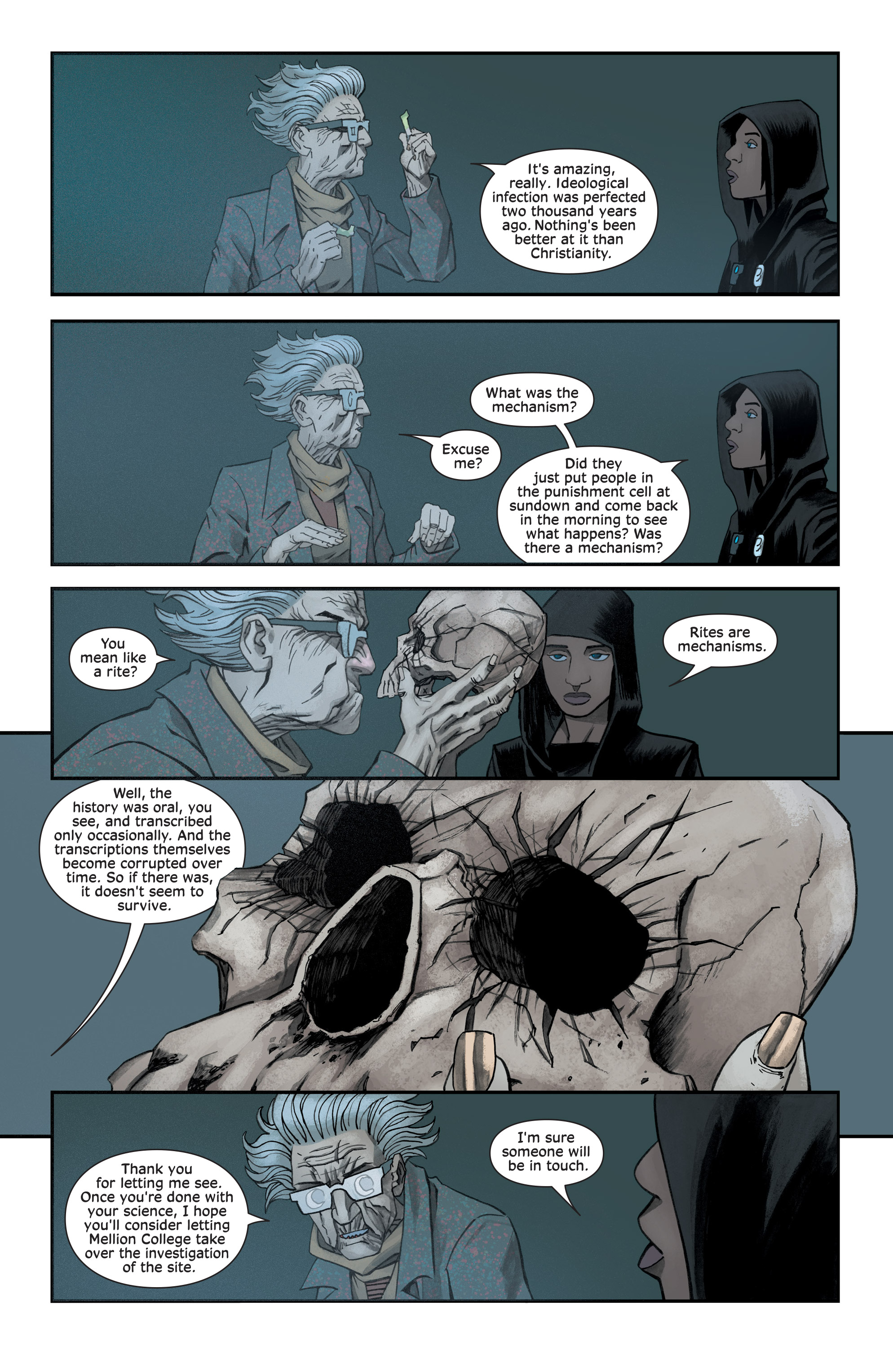 Read online Injection comic -  Issue #13 - 9