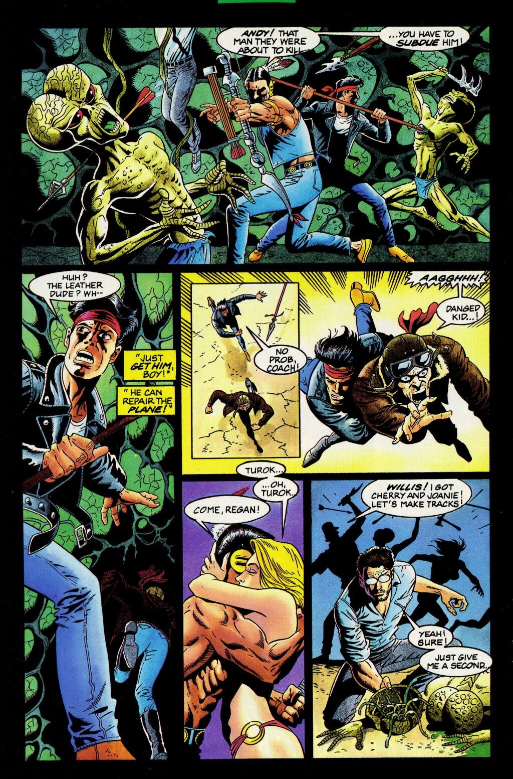 Read online Turok, Dinosaur Hunter (1993) comic -  Issue #33 - 12