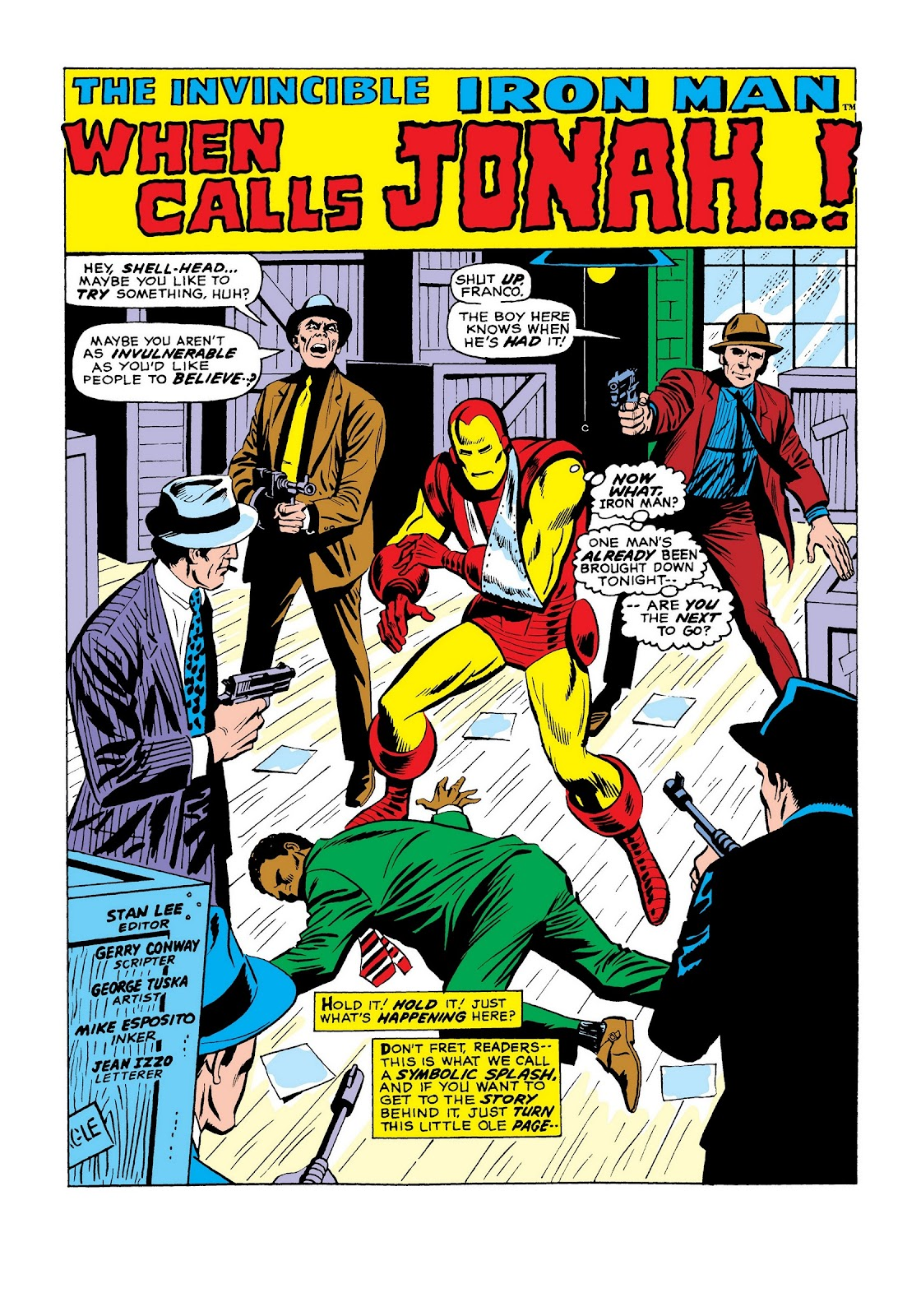 Read online Marvel Masterworks: The Invincible Iron Man comic -  Issue # TPB 7 (Part 3) - 70