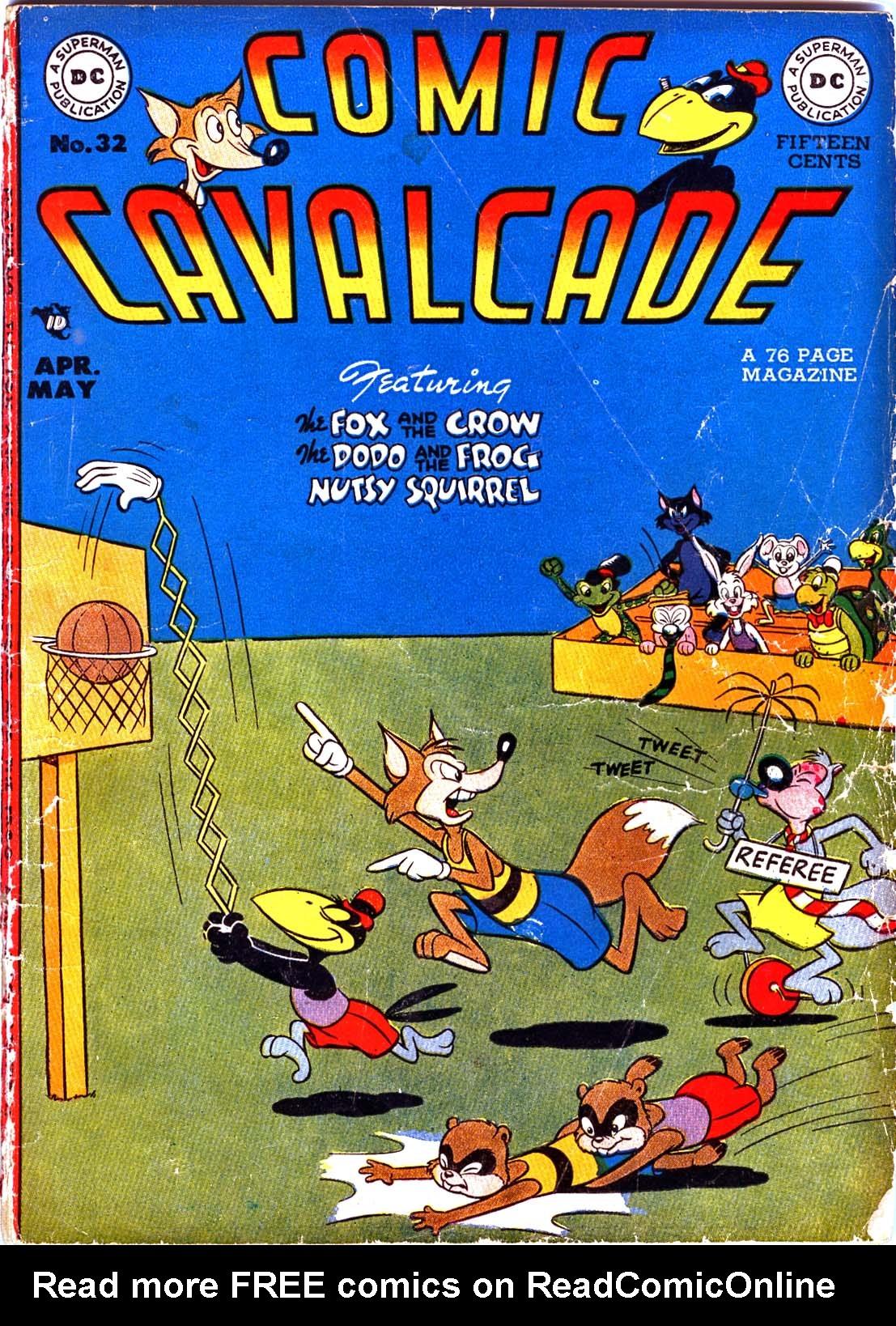 Comic Cavalcade 32 Page 1