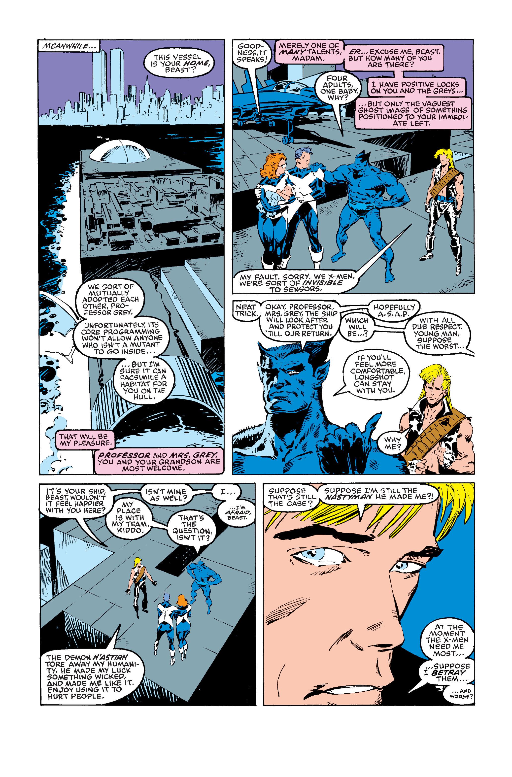 Read online Uncanny X-Men (1963) comic -  Issue #243 - 16