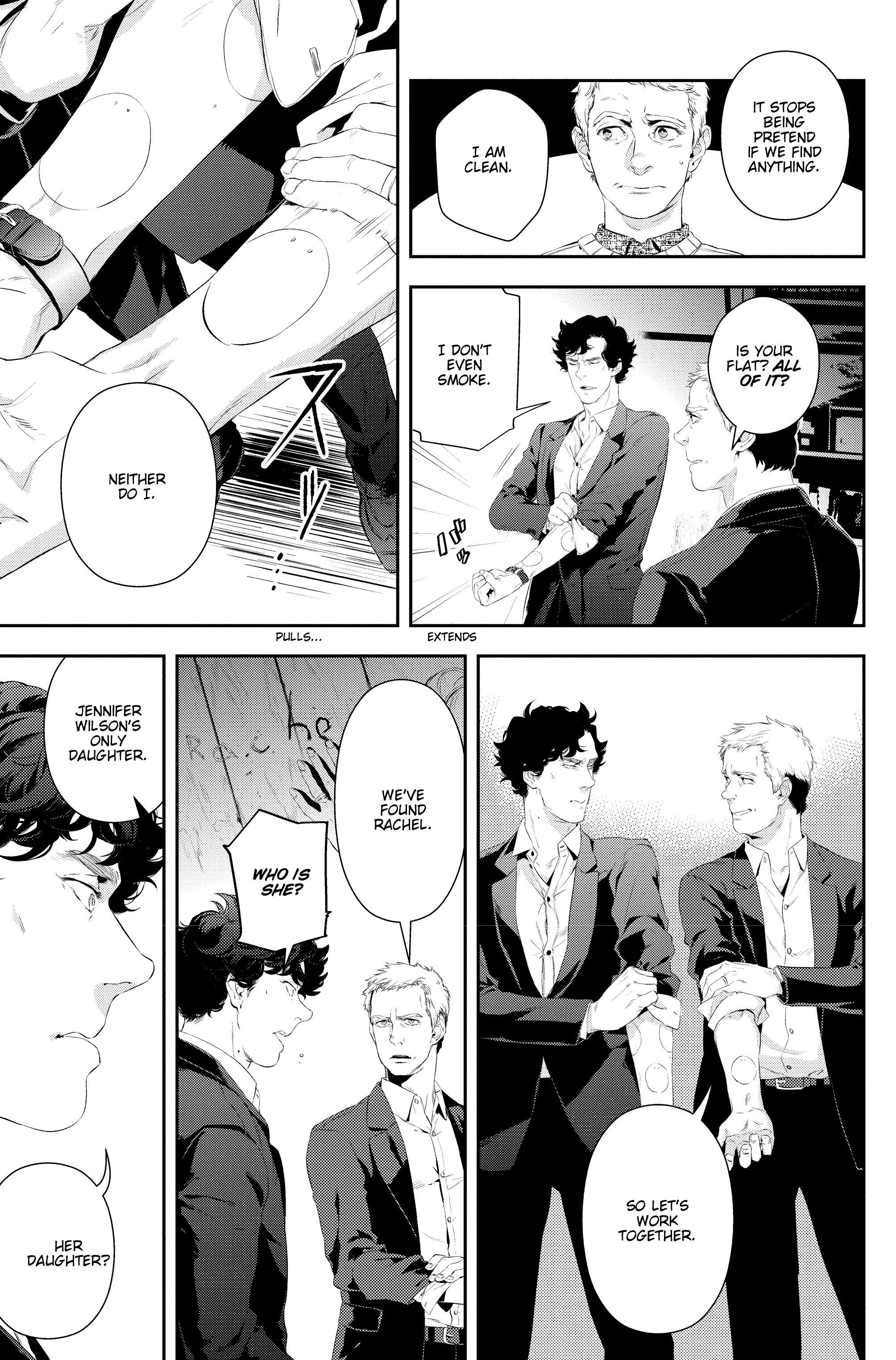 Read online Sherlock: A Study In Pink comic -  Issue #5 - 9