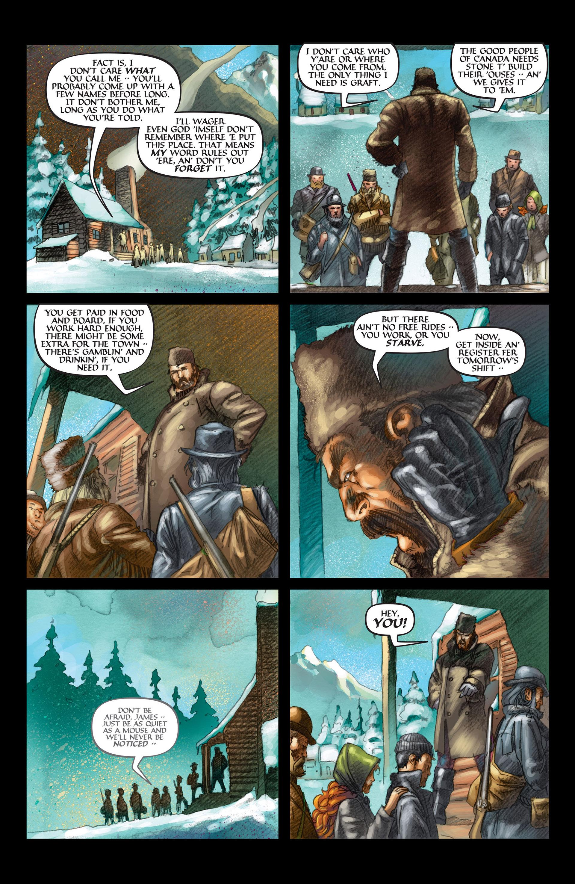 Read online Wolverine: The Origin comic -  Issue #3 - 22